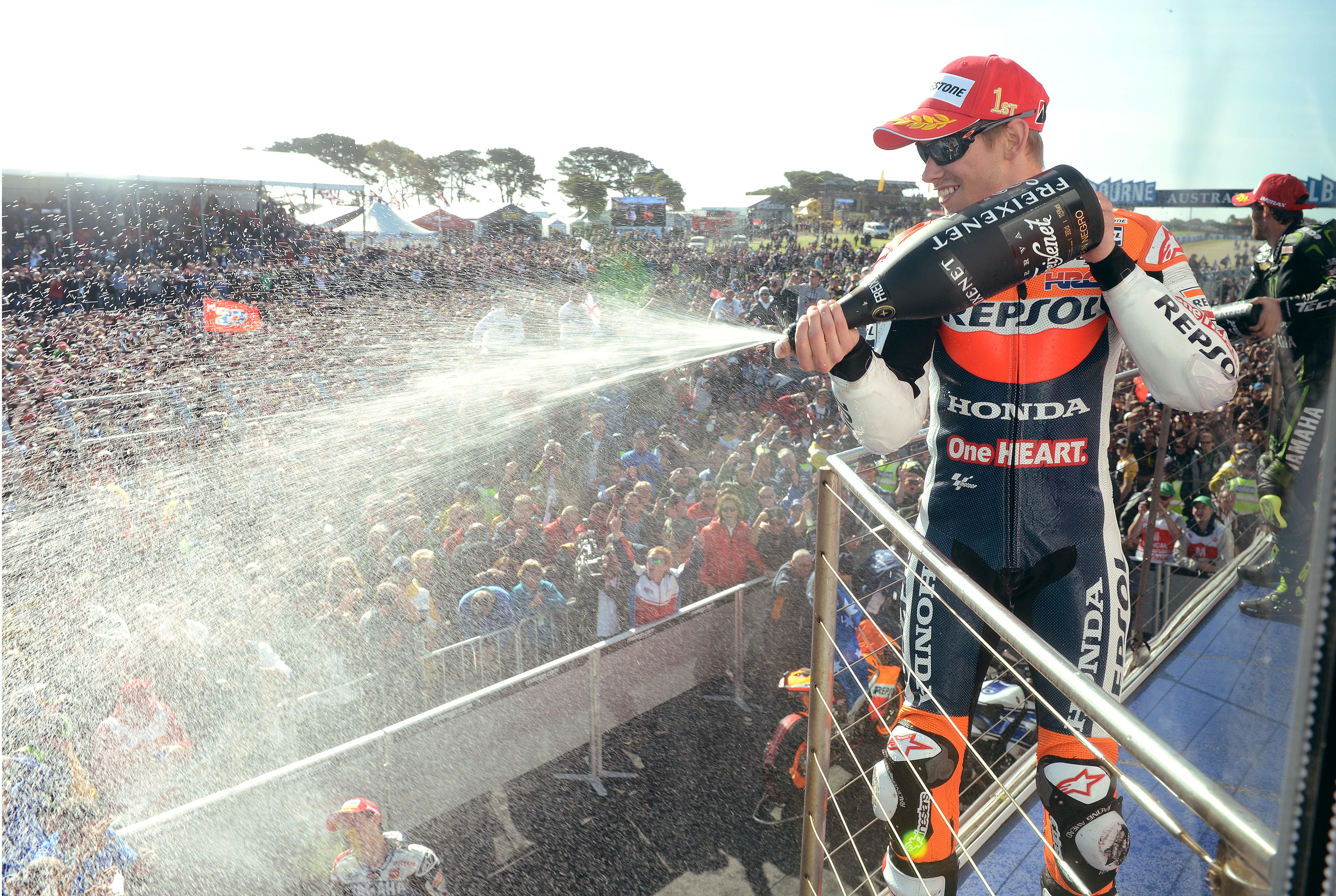 Casey Stoner, Repsol Honda, Australian MotoGP 2012,