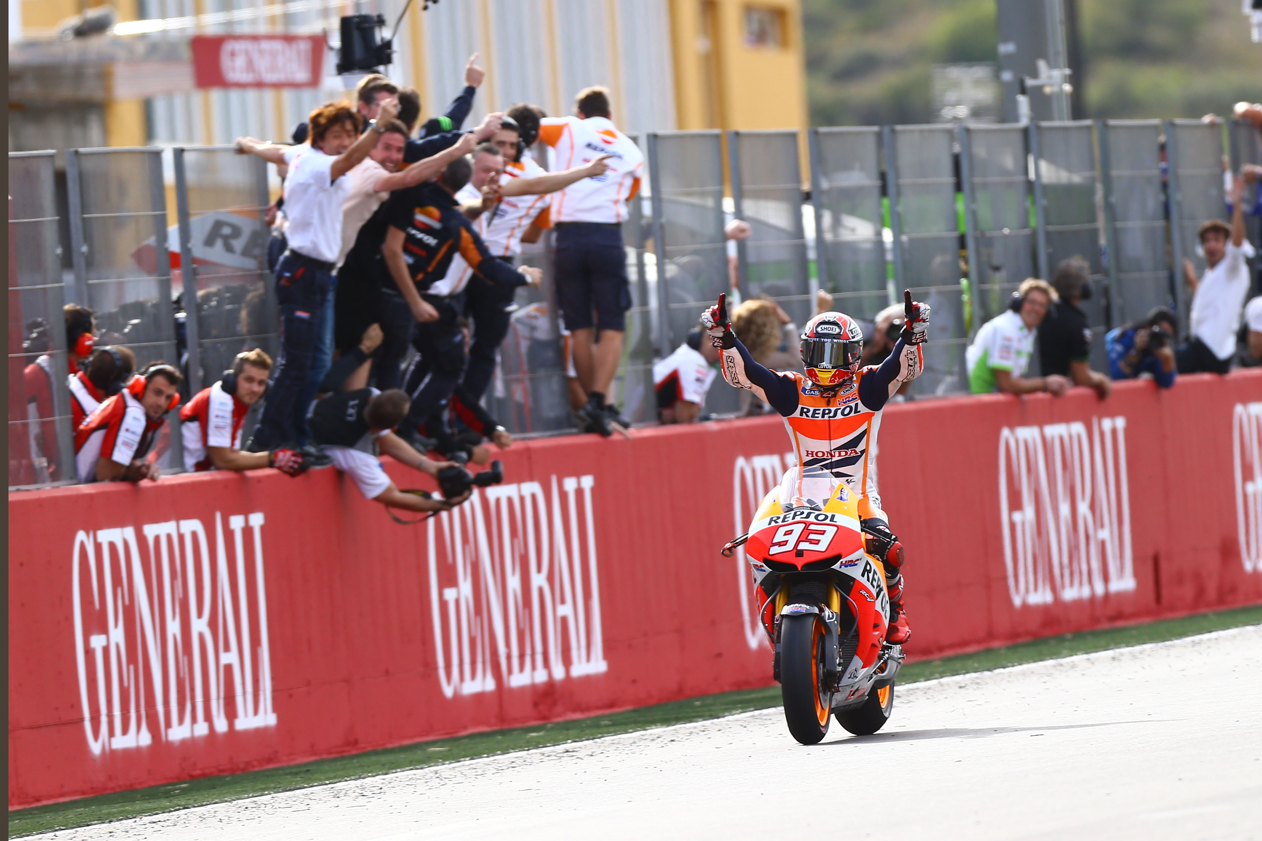 Marc Marquez, Repsol Honda, Valencia MotoGP 2013,