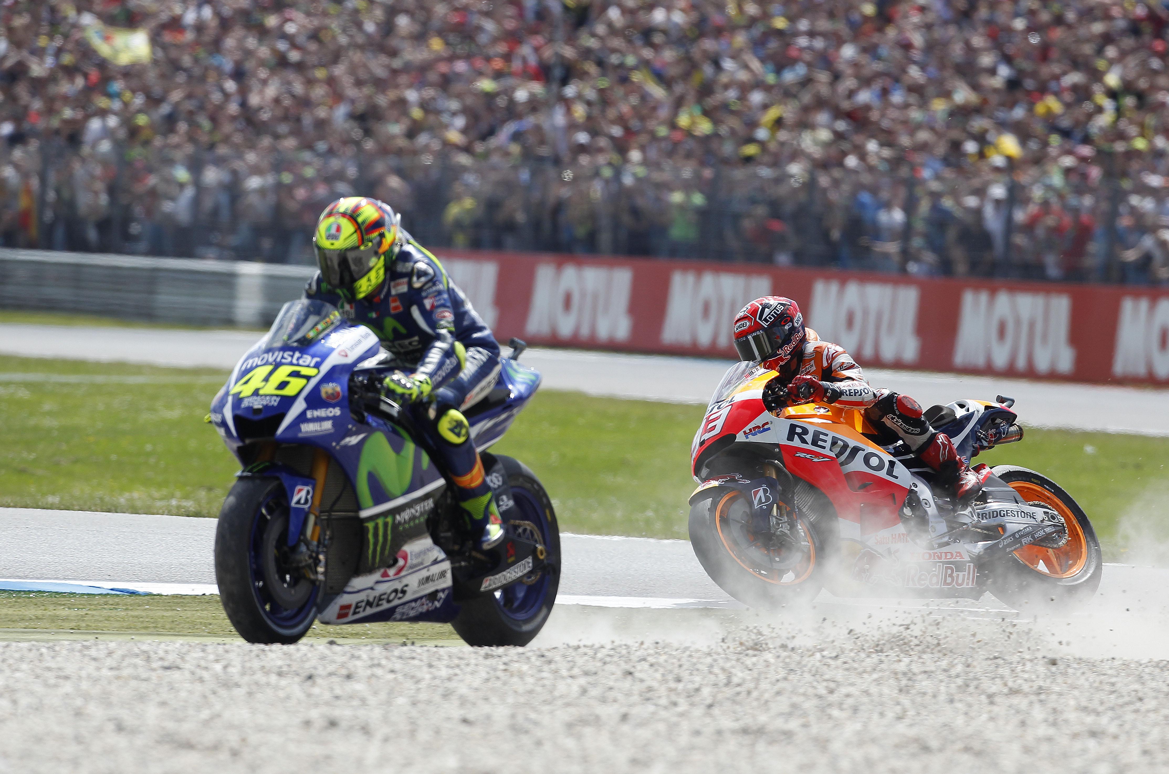 Valentino Rossi, Marc Marquez, Assen, 2015 Dutch TT, MotoGP,