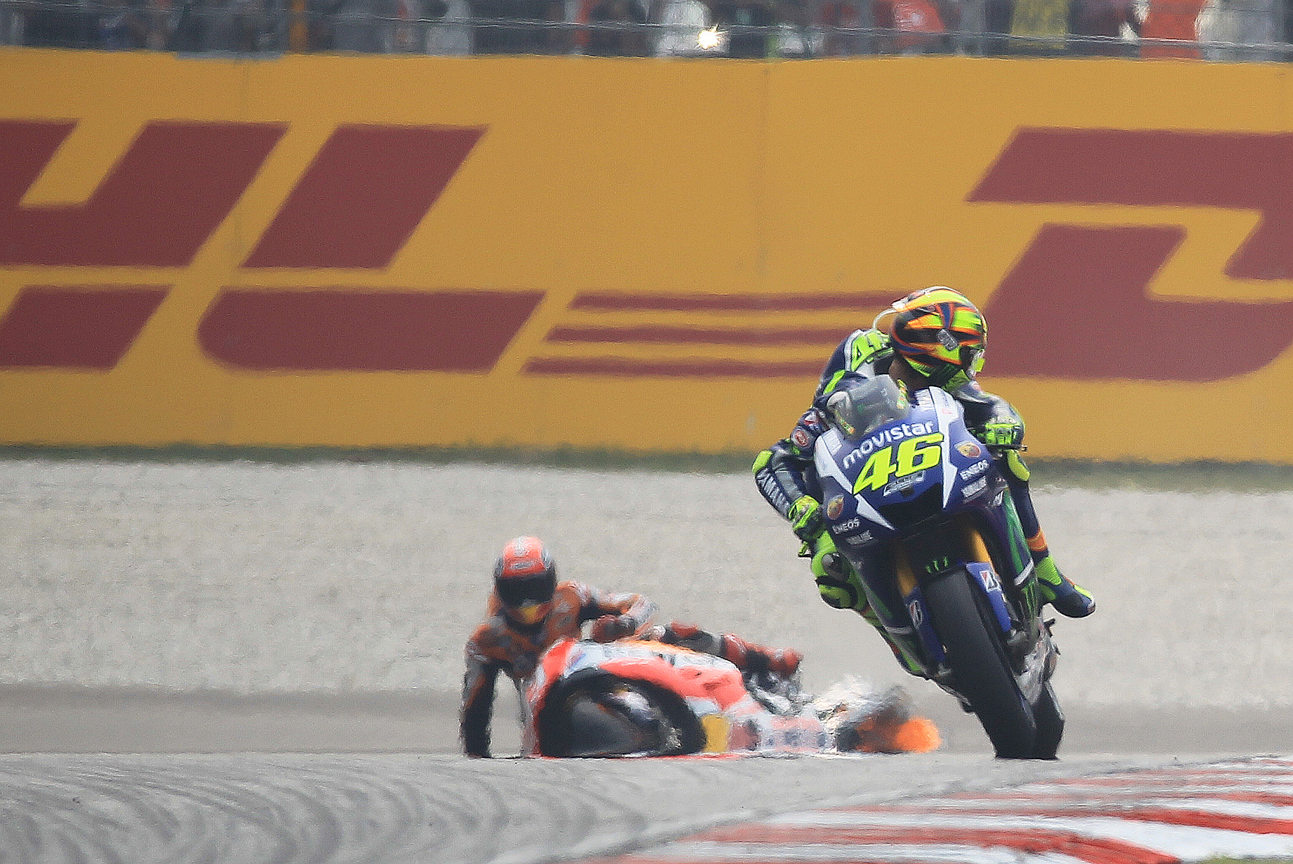 Valentino Rossi, Marc Marquez, Sepang, Malaysian MotoGP 2015,