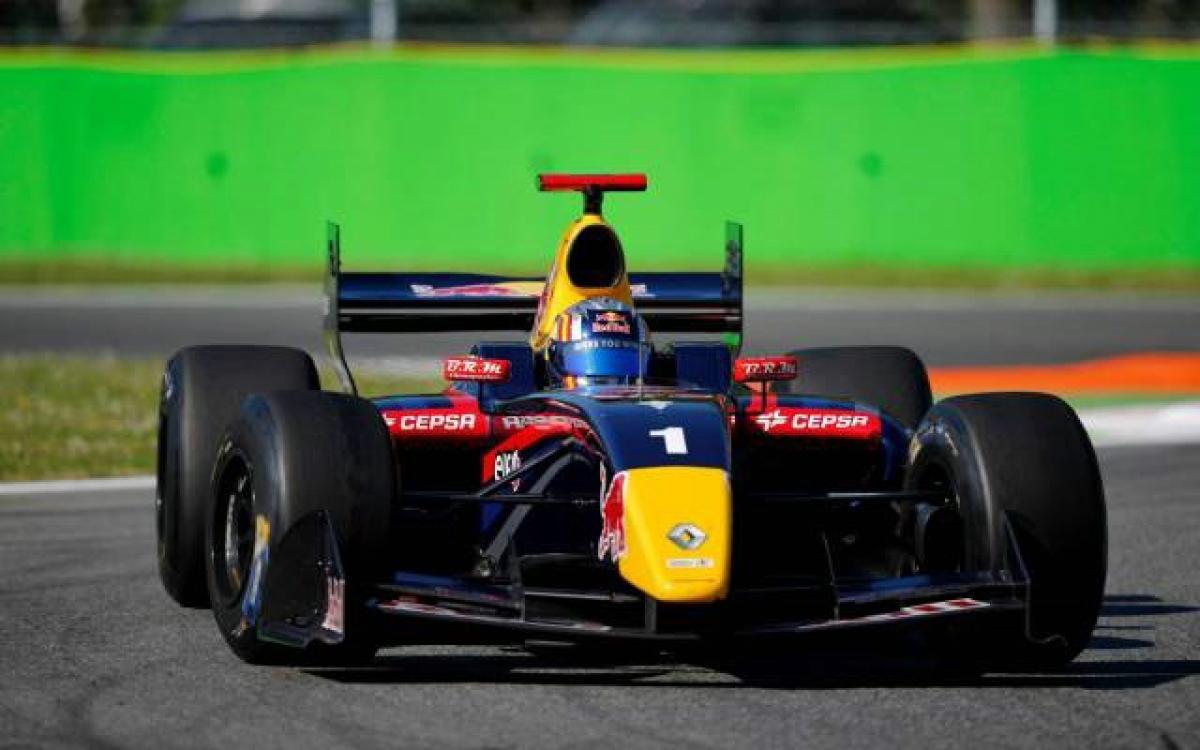 Carlos Sainz - DAMS Formula Renault 3.5