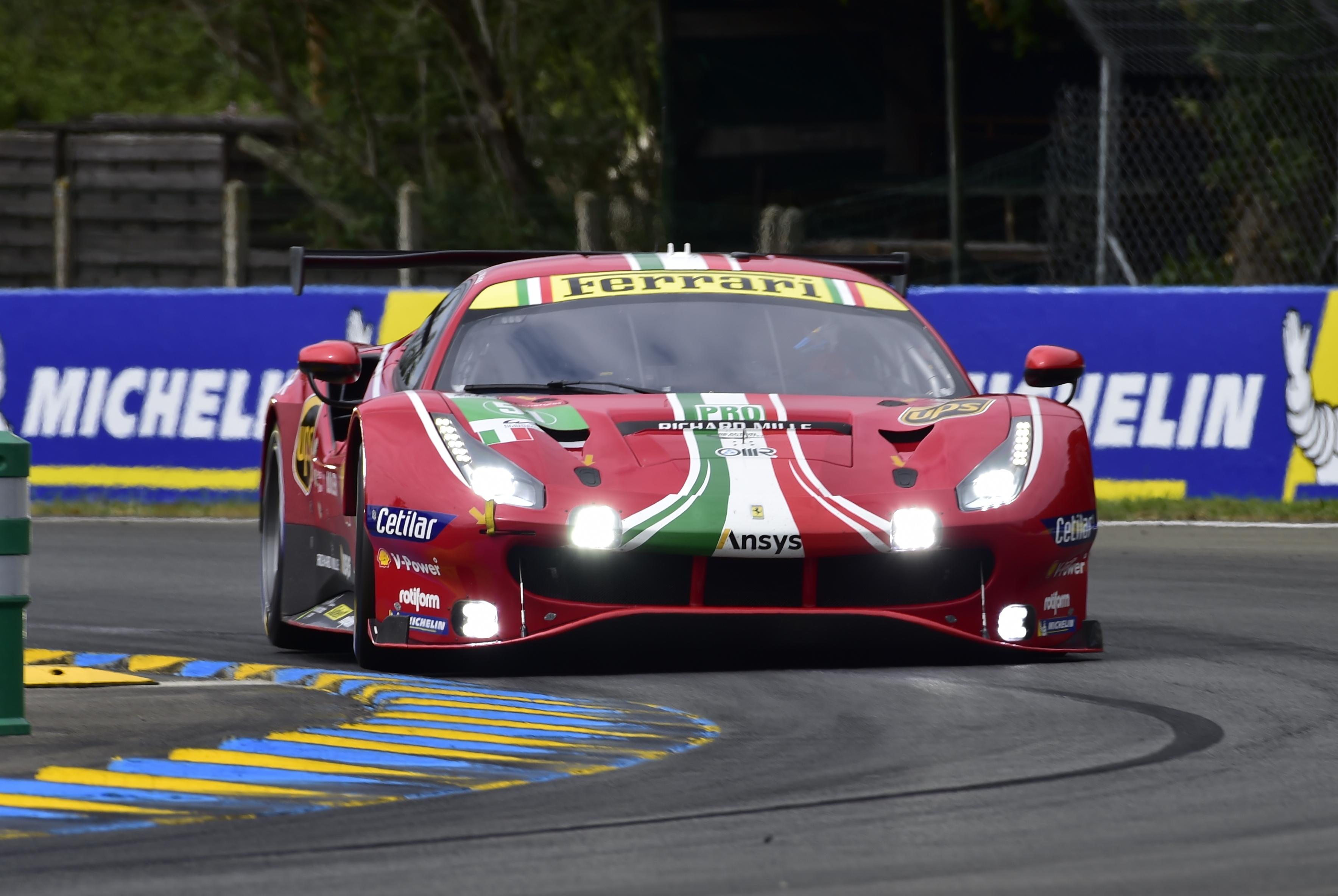 #51 Ferrari - James Calado, Alessandro Pier Guidi, Come Ledogar [credit: Andrew Hartley]