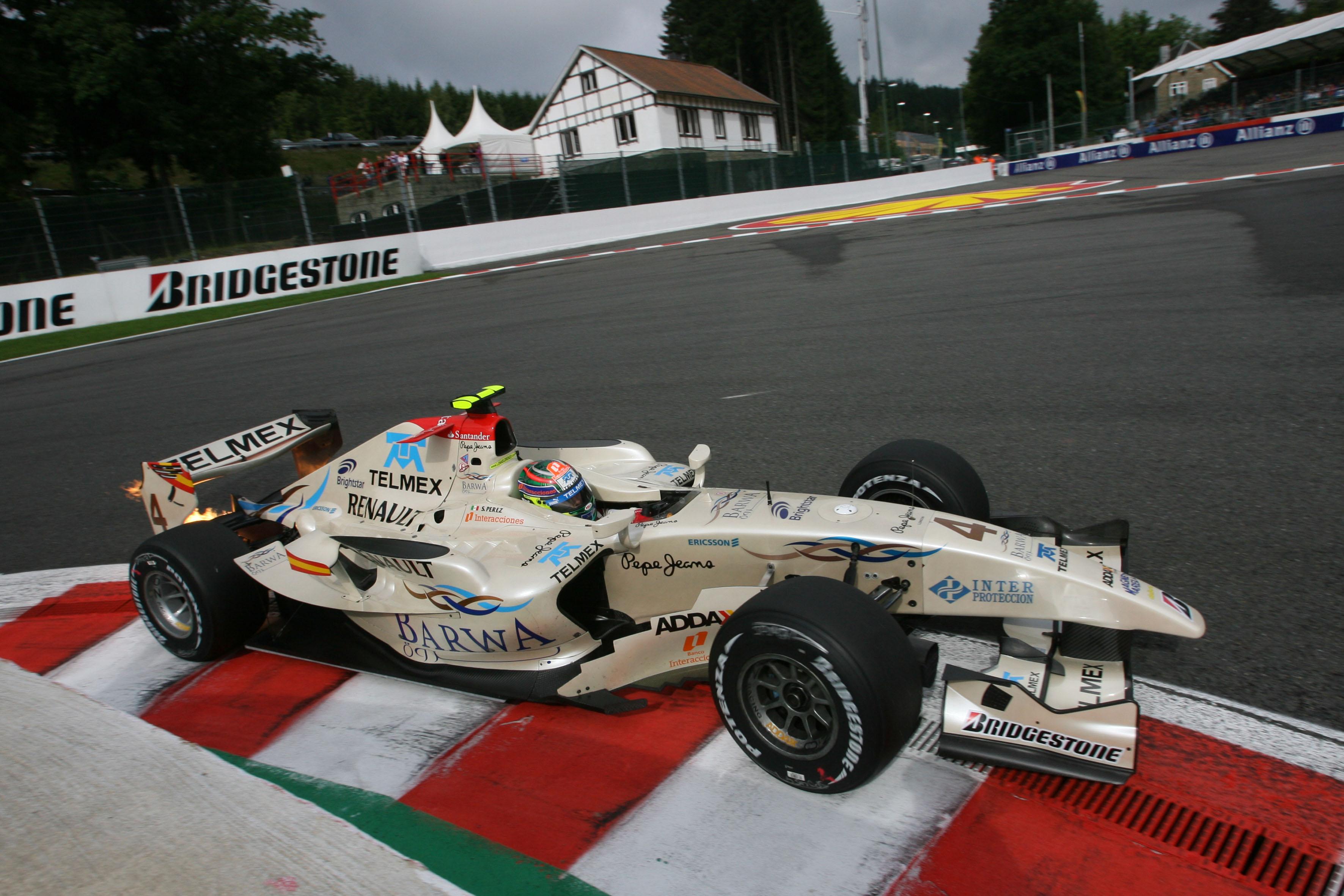 Sergio Perez GP2