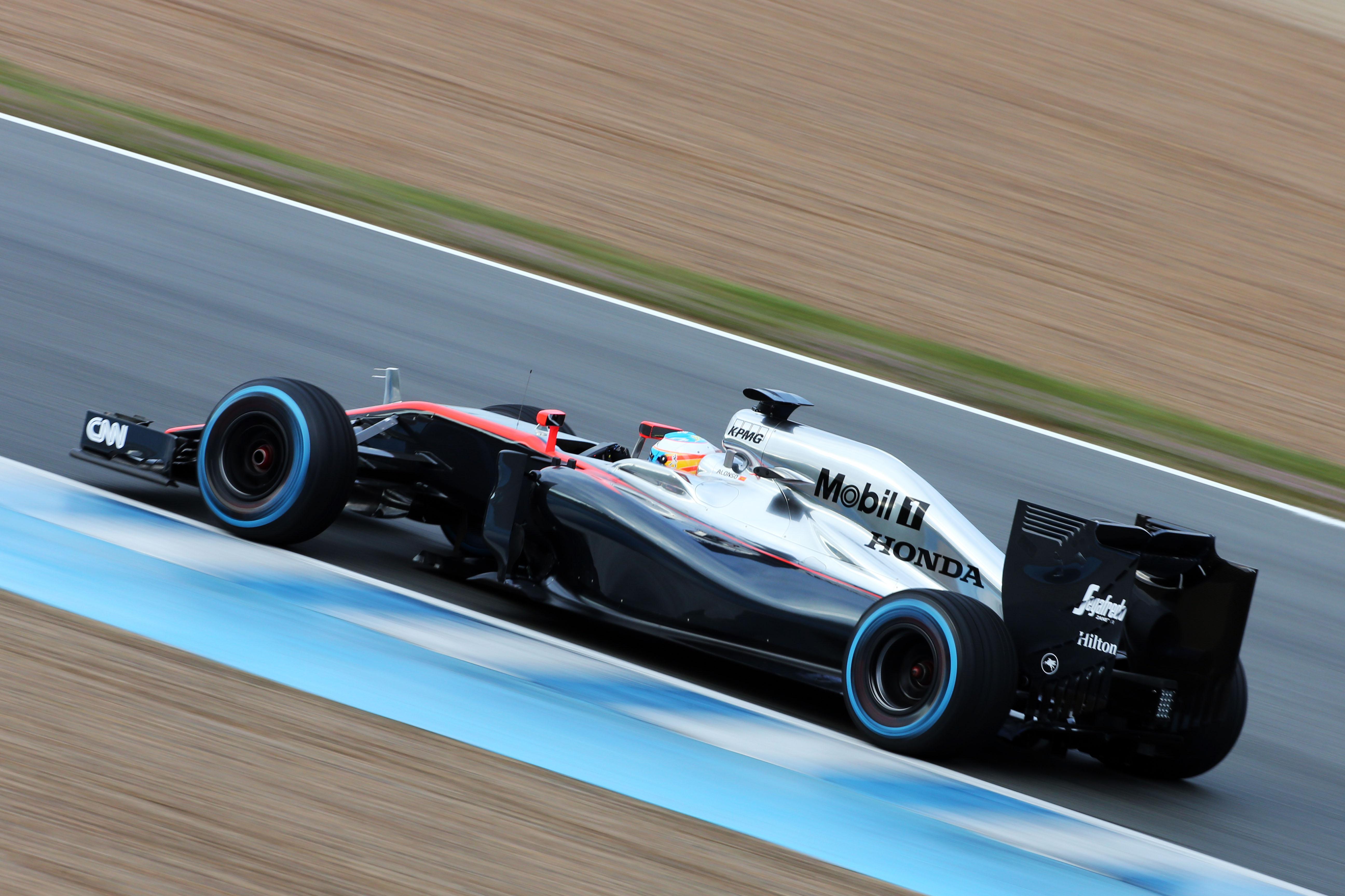 Fernando Alonso - McLaren Honda [2015]