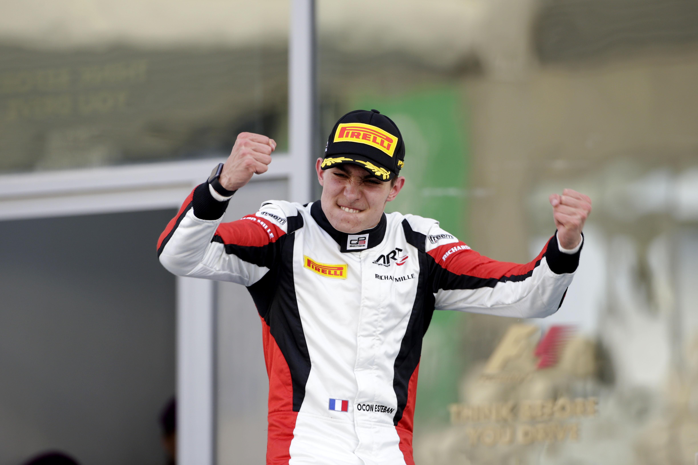 Esteban Ocon - GP3