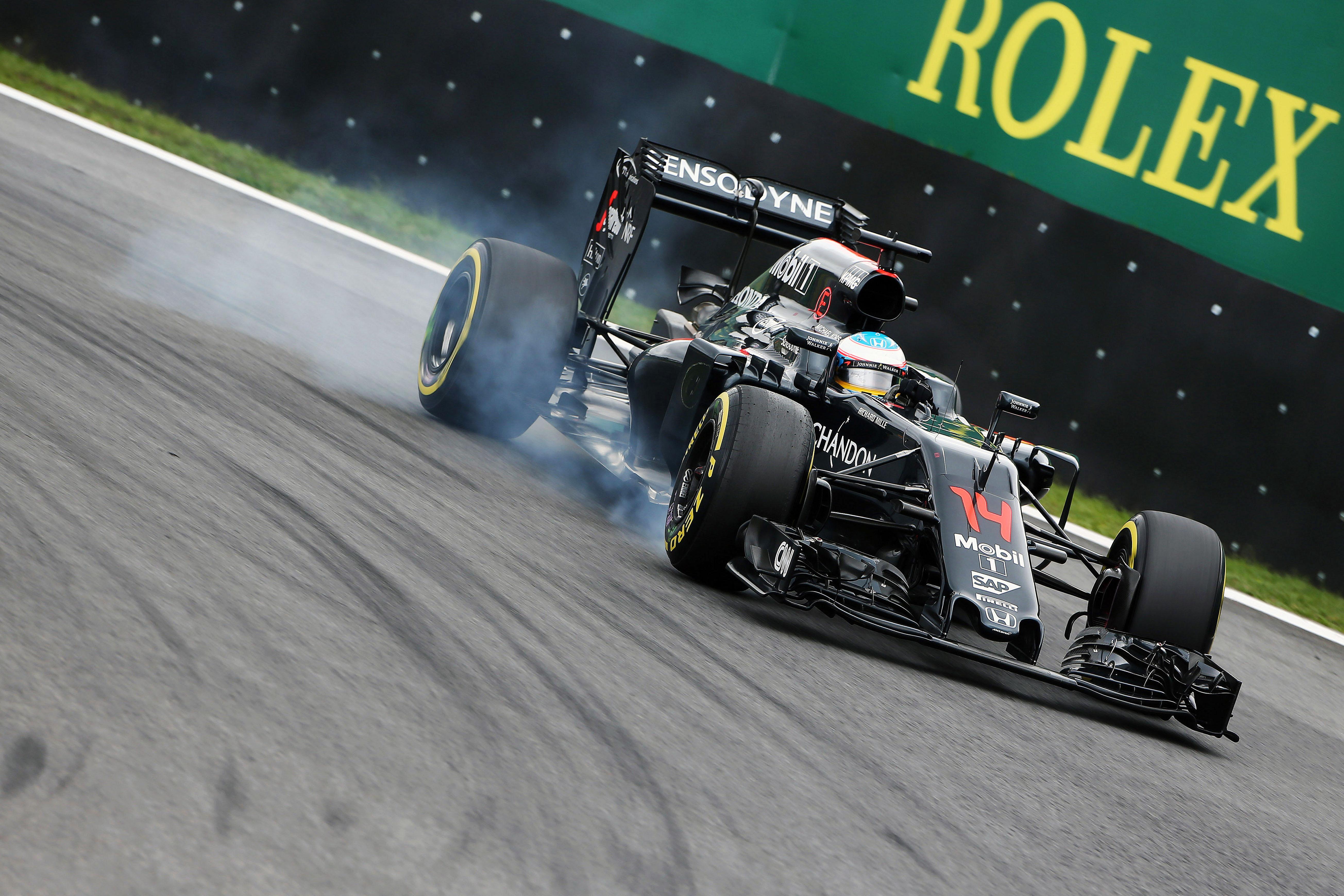 Fernando Alonso - McLaren-Honda [2016]