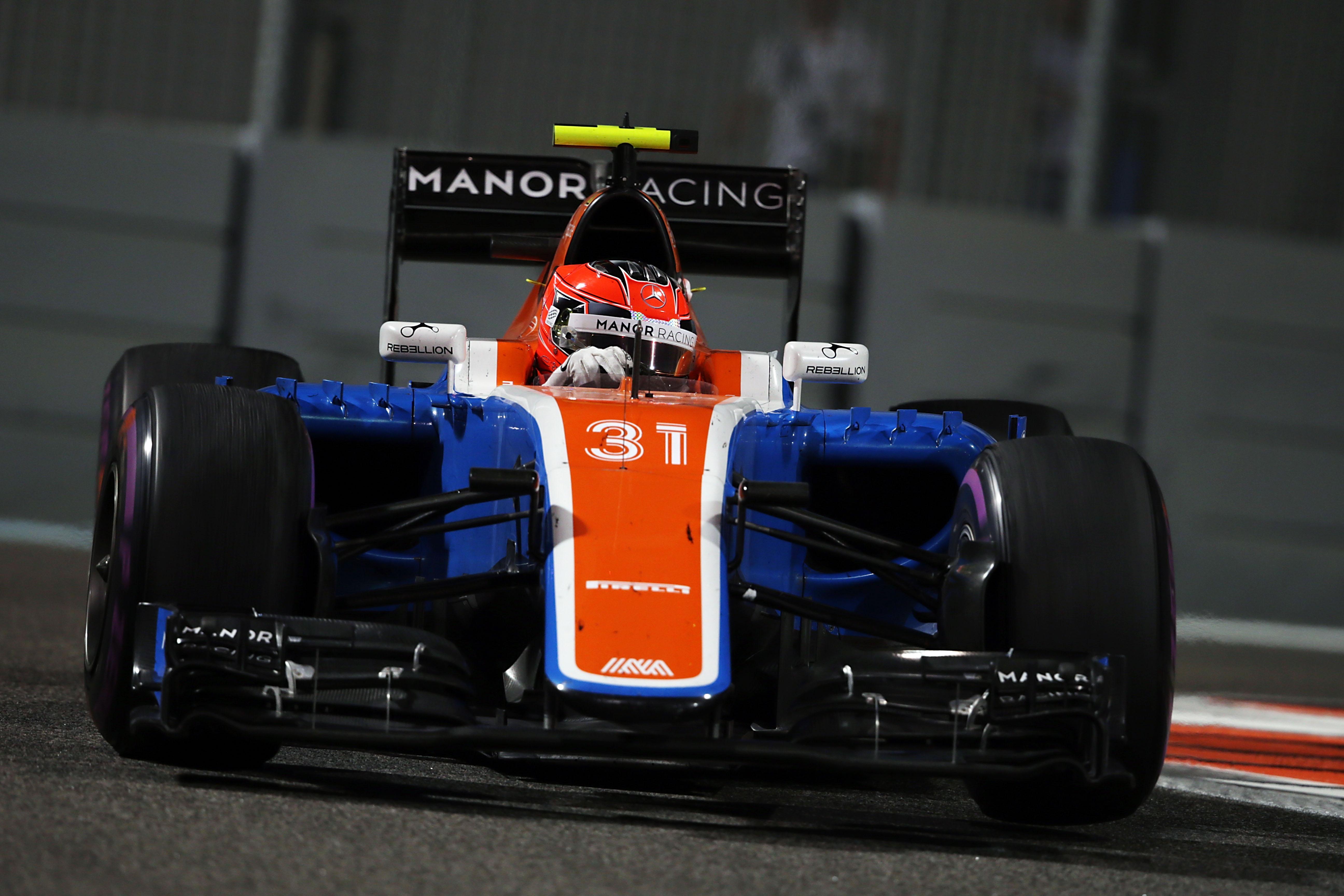 Esteban Ocon - Manor Racing F1