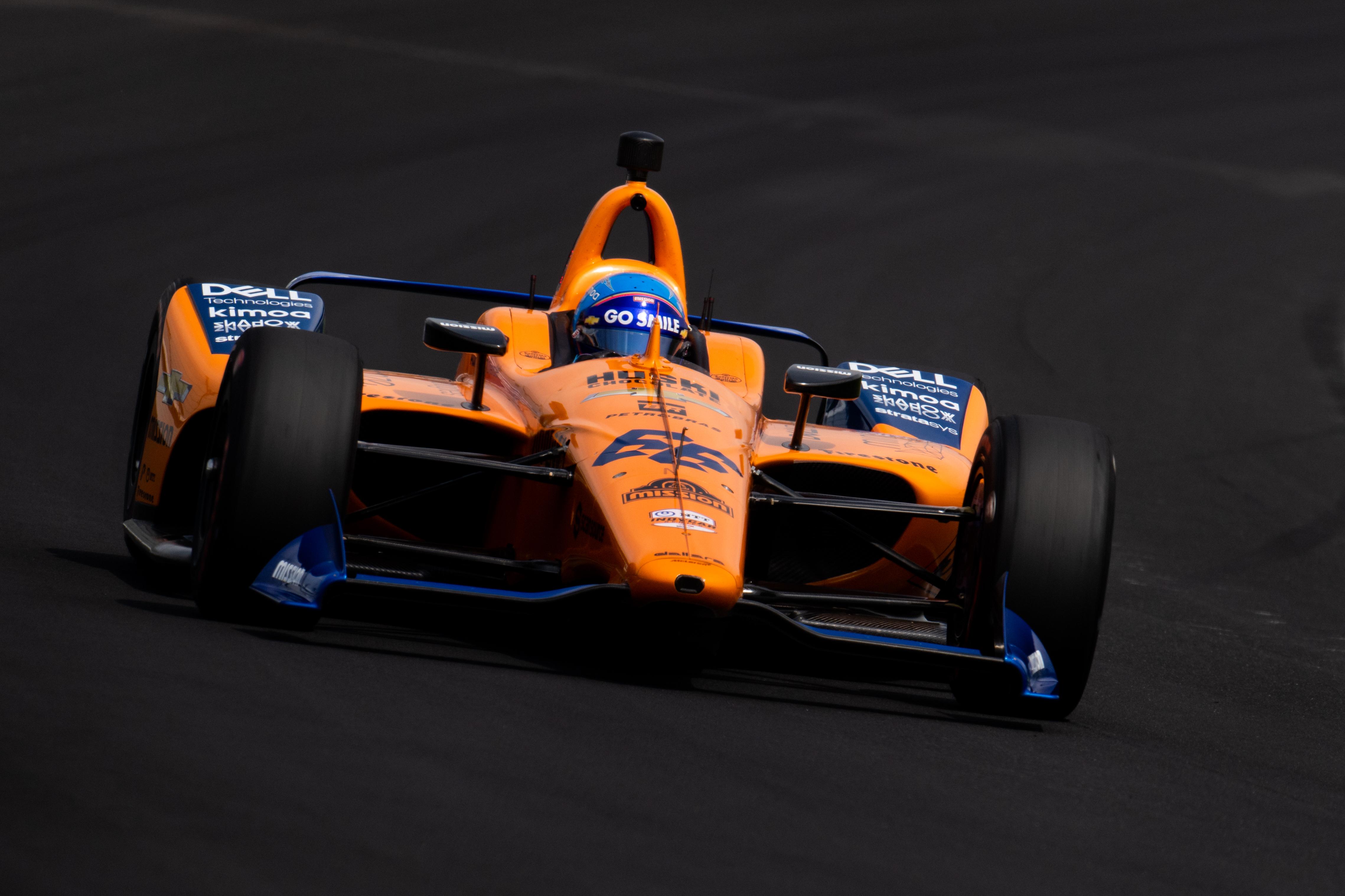 Fernando Alonso - Indy 500 McLaren