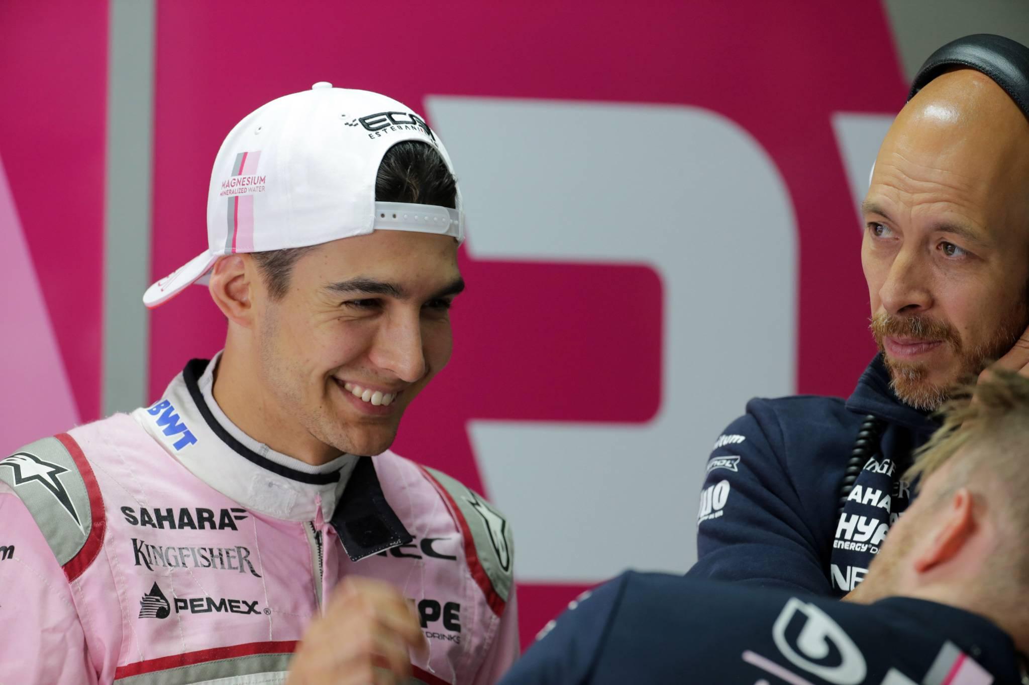 21.07.2018 - Free Practice 2, Esteban Ocon (FRA) Sahara Force India F1 VJM11