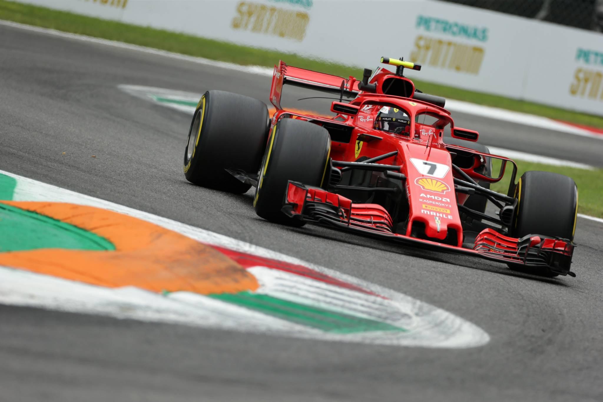 31.08.2018 - Free Practice 2, Kimi Raikkonen (FIN) Scuderia Ferrari SF71H