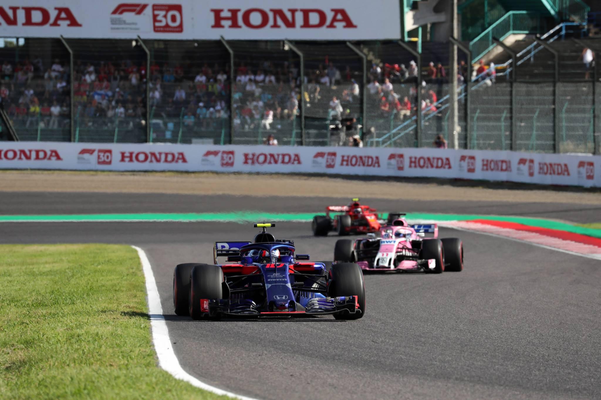 07.10.2018 - Race, Pierre Gasly (FRA) Scuderia Toro Rosso STR13
