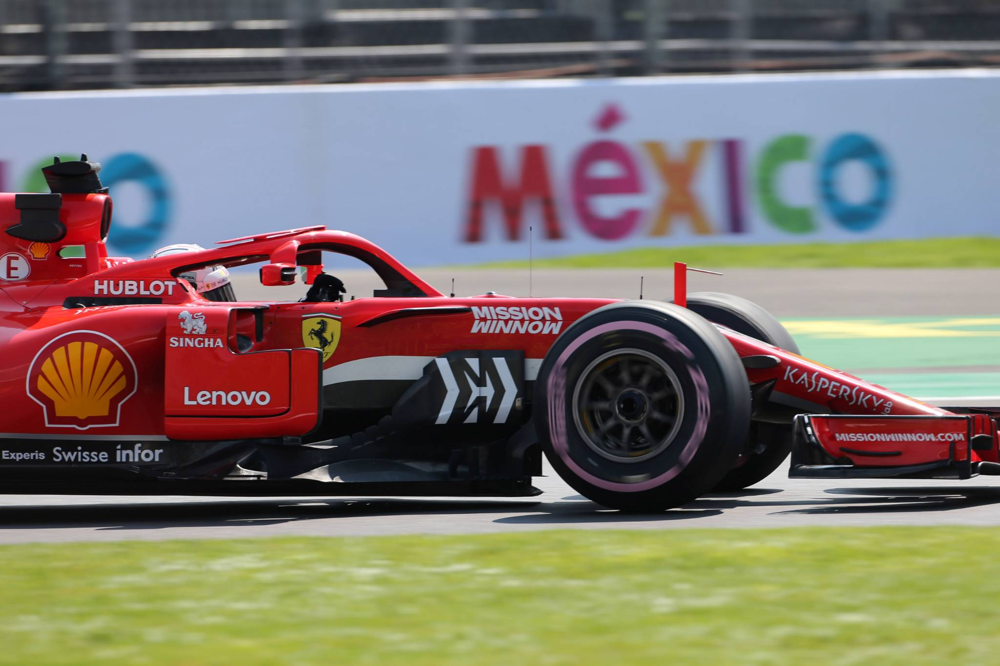 26.10.2018 - Free Practice 2, Sebastian Vettel (GER) Scuderia Ferrari SF71H