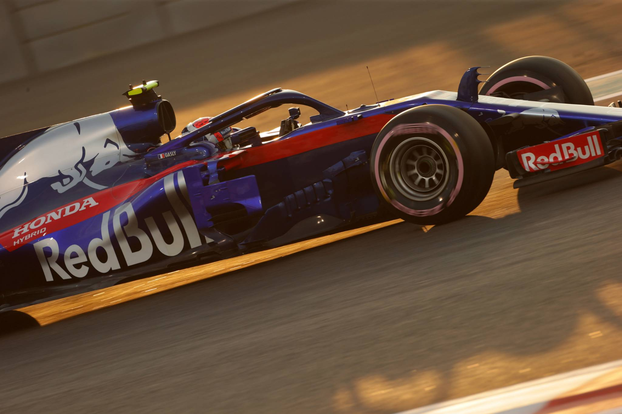 24.11.2018 - Qualifying, Pierre Gasly (FRA) Scuderia Toro Rosso STR13