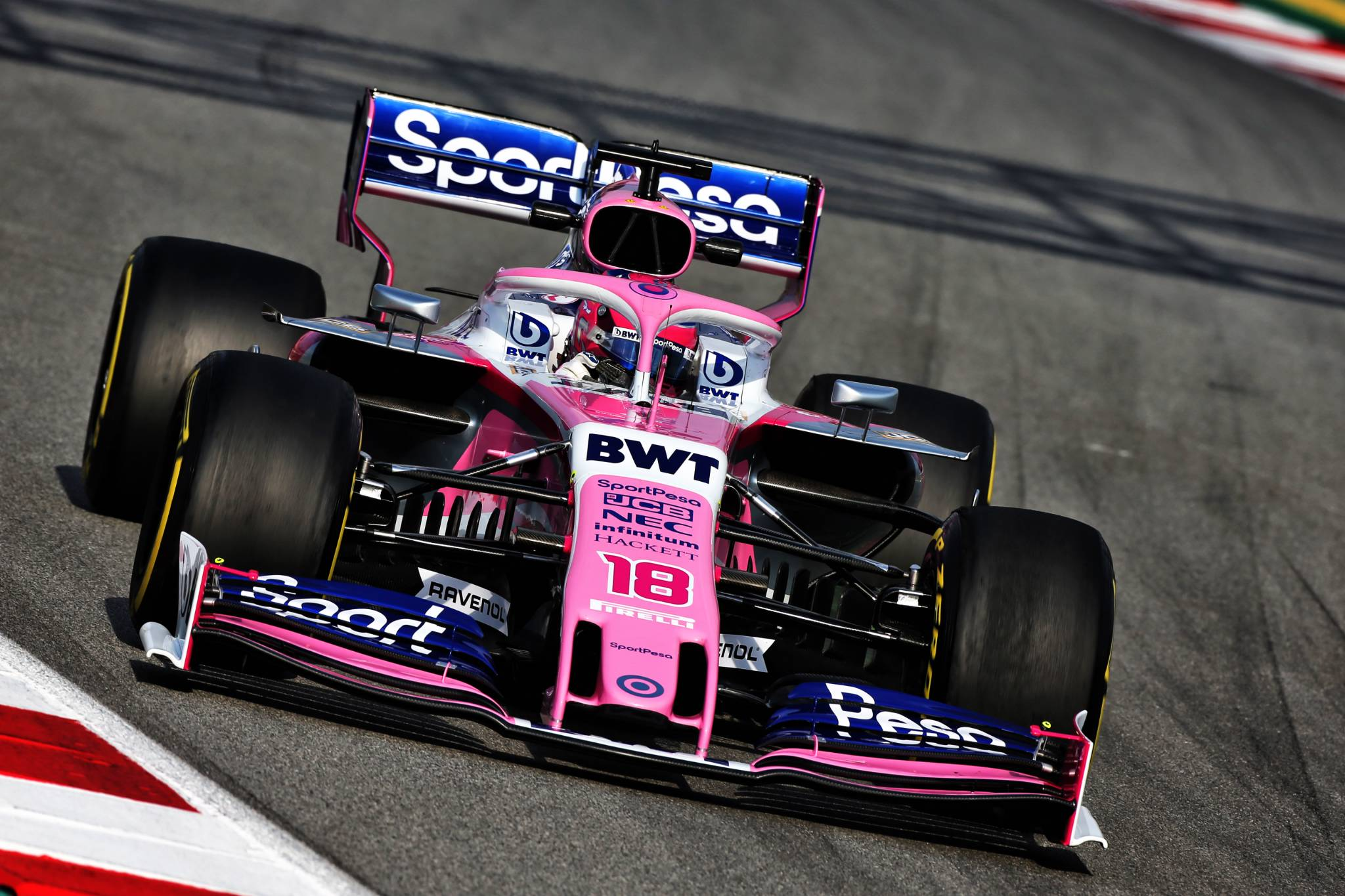 Lance Stroll (CDN) Racing Point F1 Team RP19. 19.02.2019.
