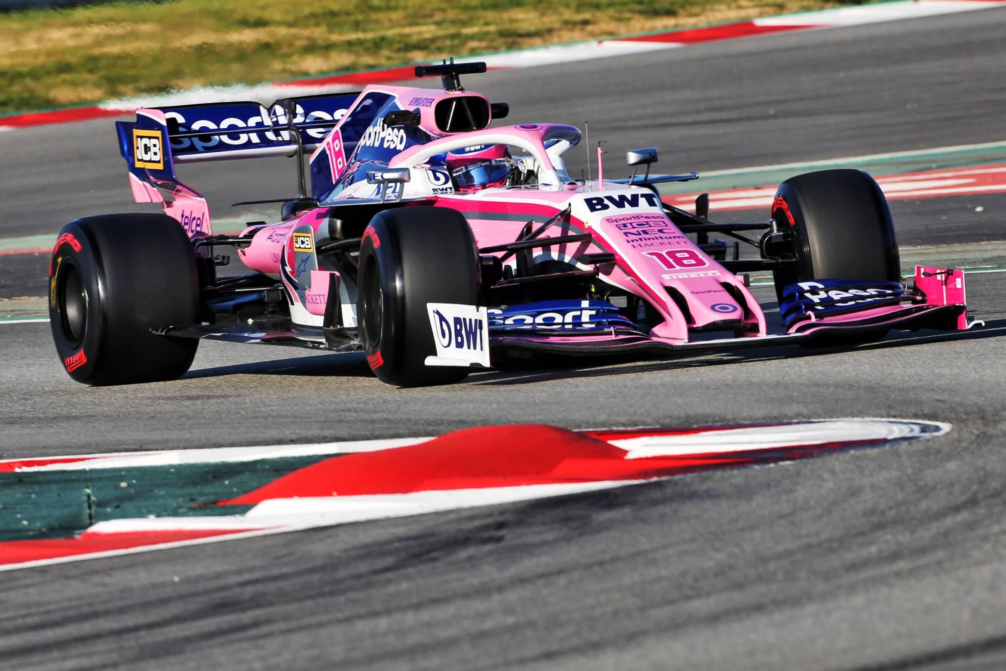 Lance Stroll (CDN) Racing Point F1 Team RP19. 26.02.2019.
