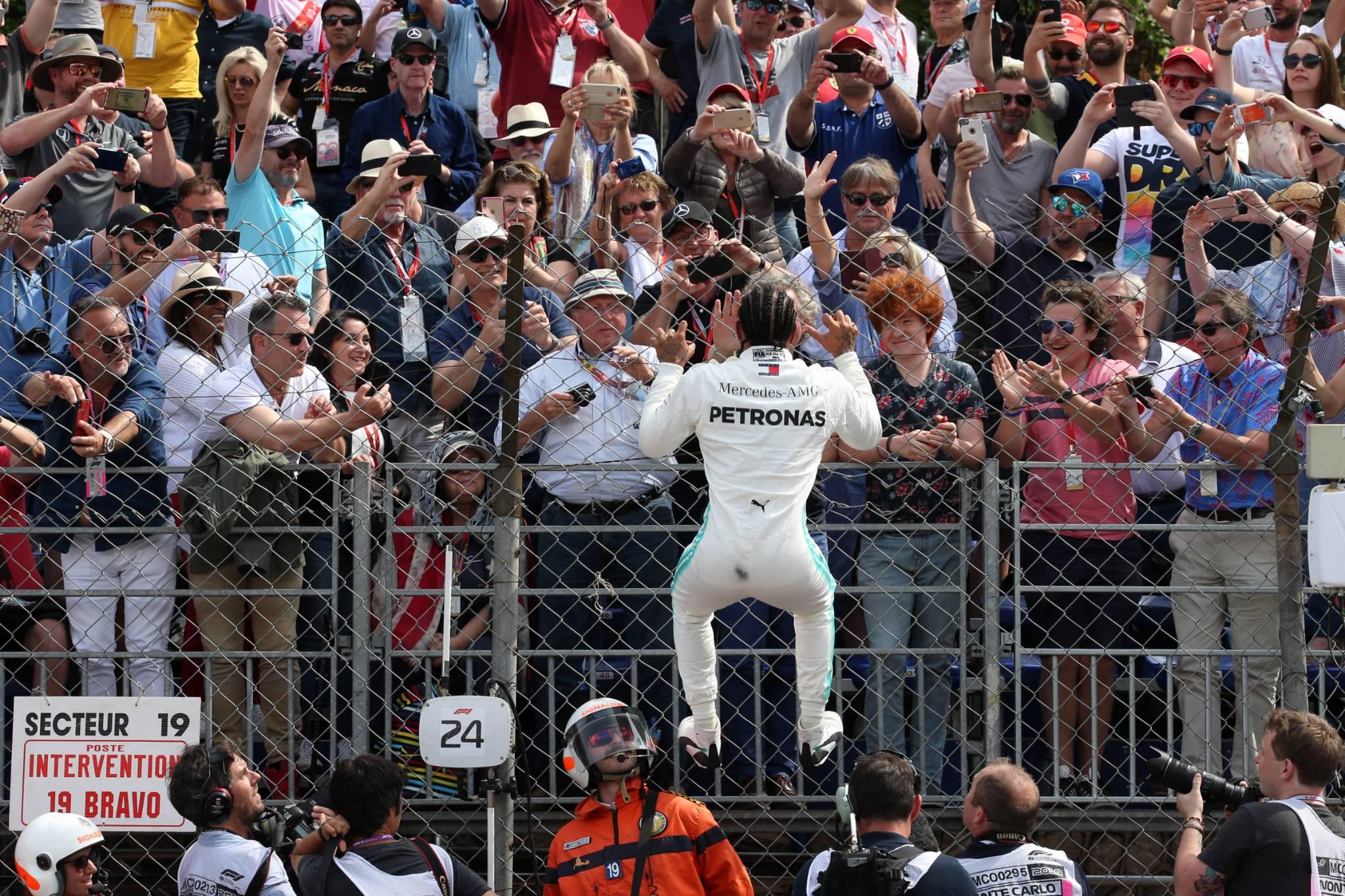 25.05.2019 - Qualifying, Lewis Hamilton (GBR) Mercedes AMG F1 W10 pole position