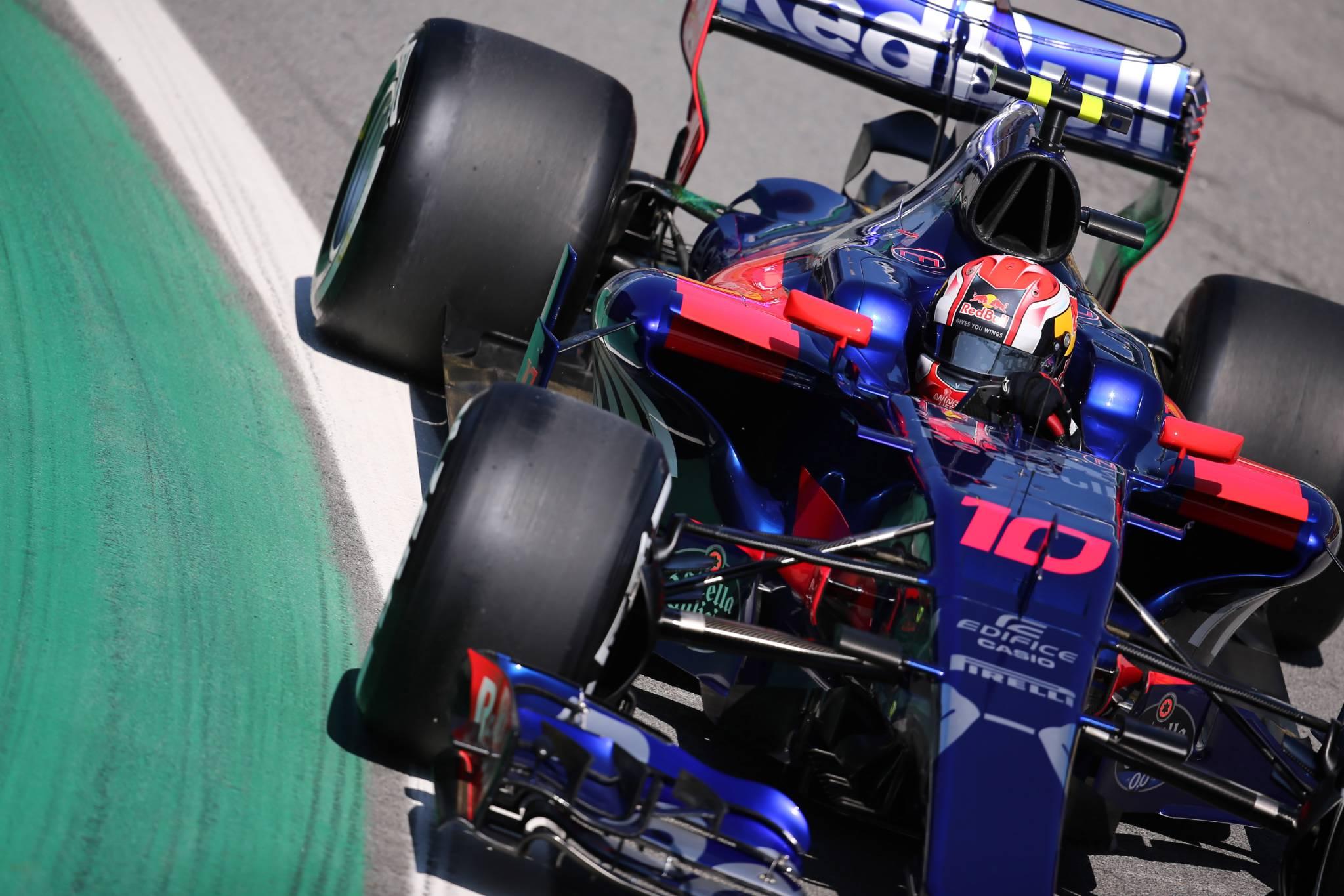 10.11.2017 - Free Practice 1, Pierre Gasly (FRA) Scuderia Toro Rosso STR12