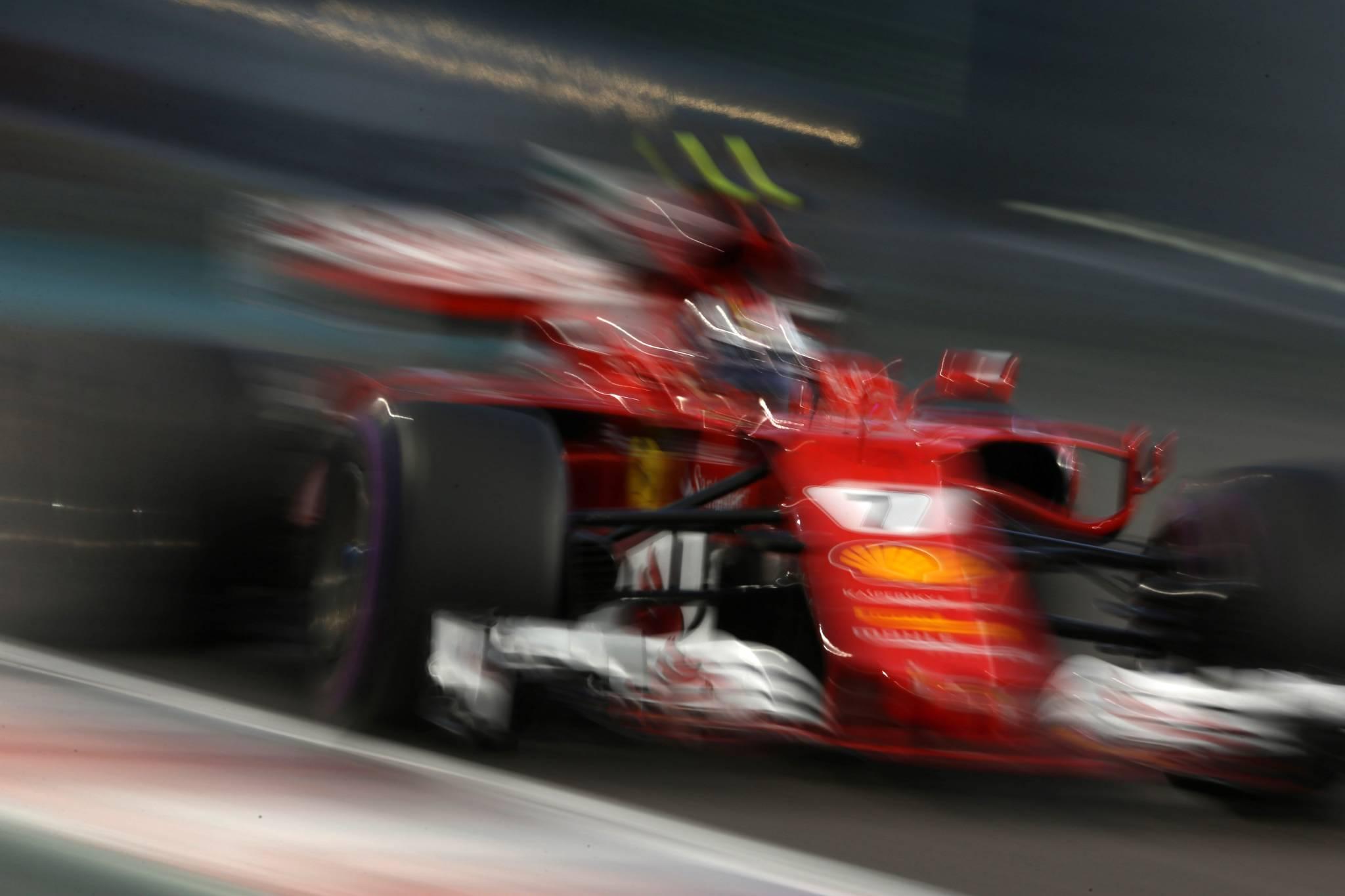 24.11.2017 - Free Practice 2, Kimi Raikkonen (FIN) Scuderia Ferrari SF70H