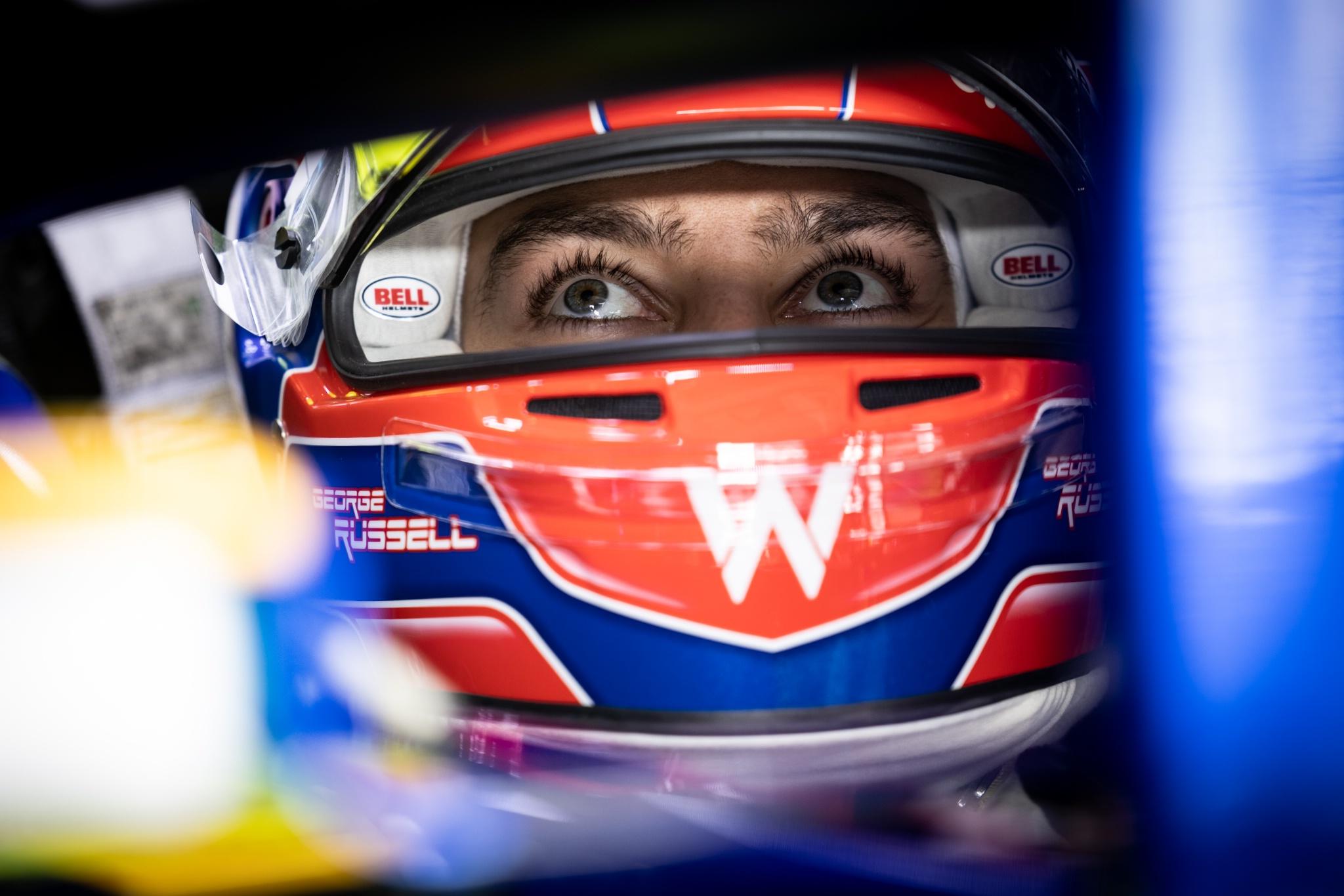 George Russell (GBR) Williams Racing FW43B.
