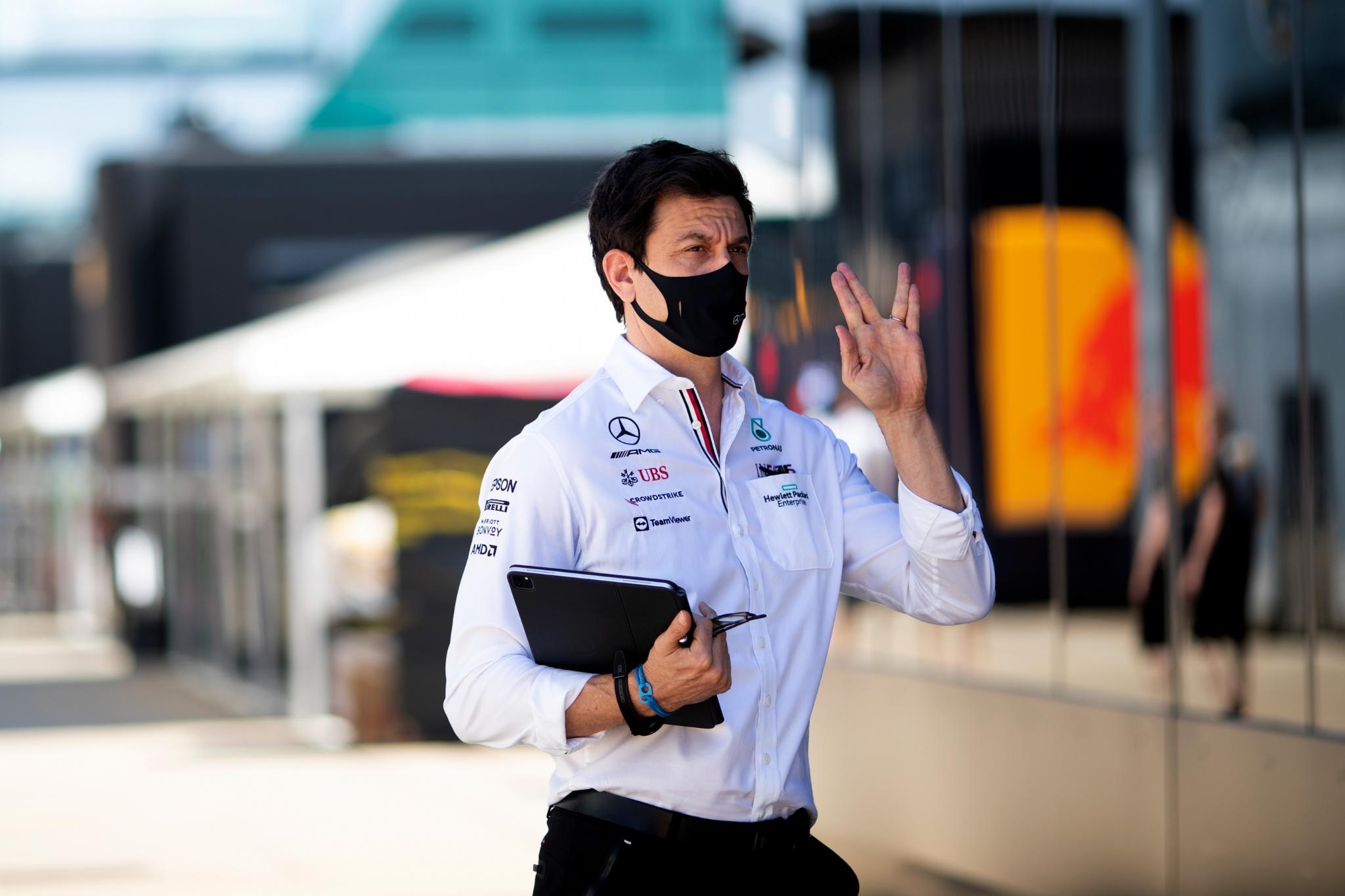 Toto Wolff (GER) Pemegang Saham dan Direktur Eksekutif Mercedes AMG F1.