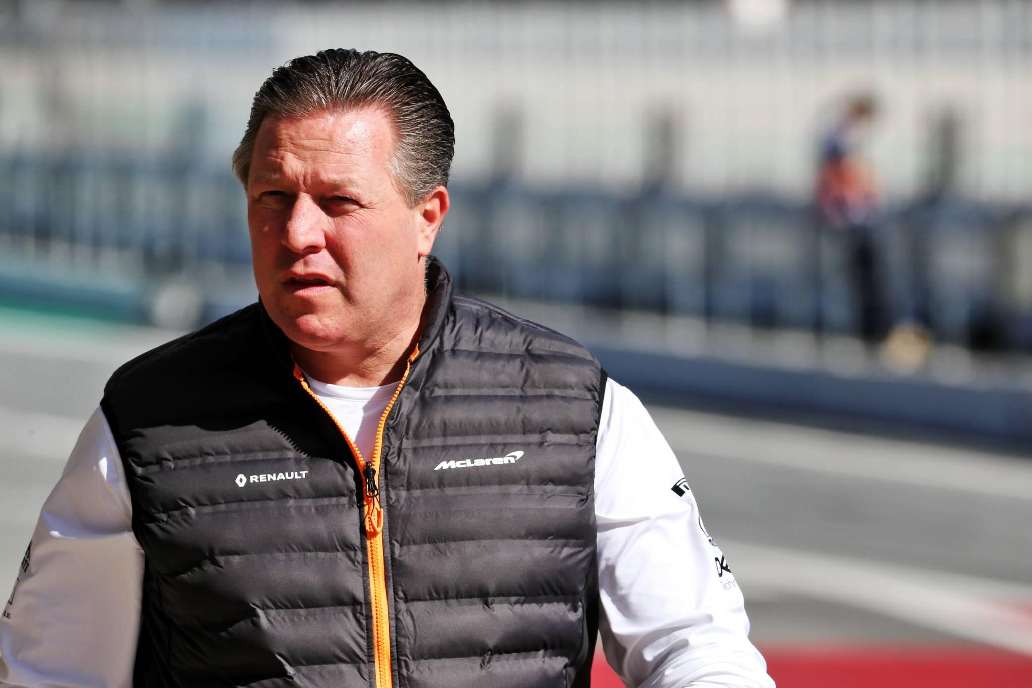 Zak Brown (USA) McLaren Executive Director.