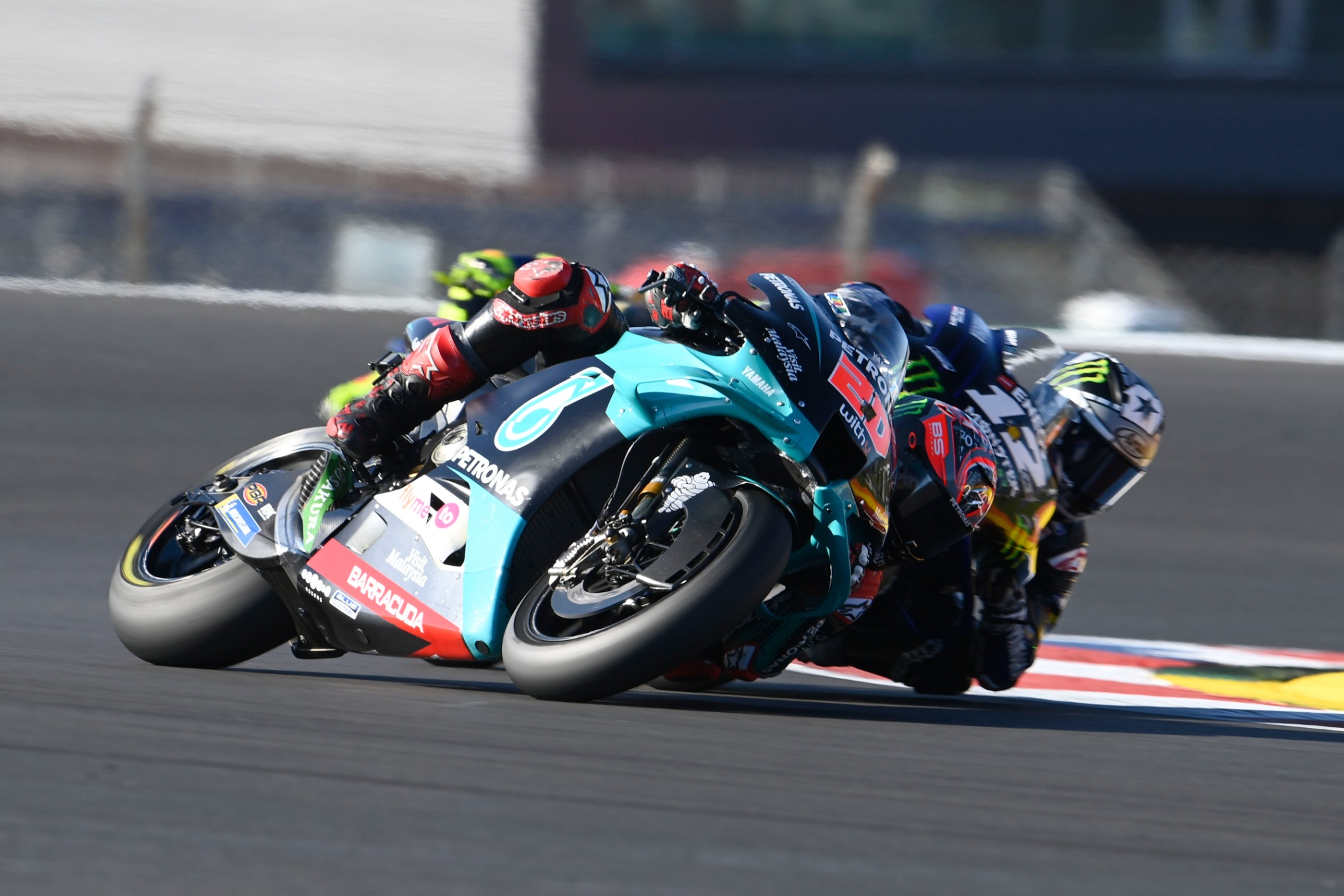 Fabio Quartararo, Maverick Vinales, Portuguese MotoGP race, 22nd November 2020