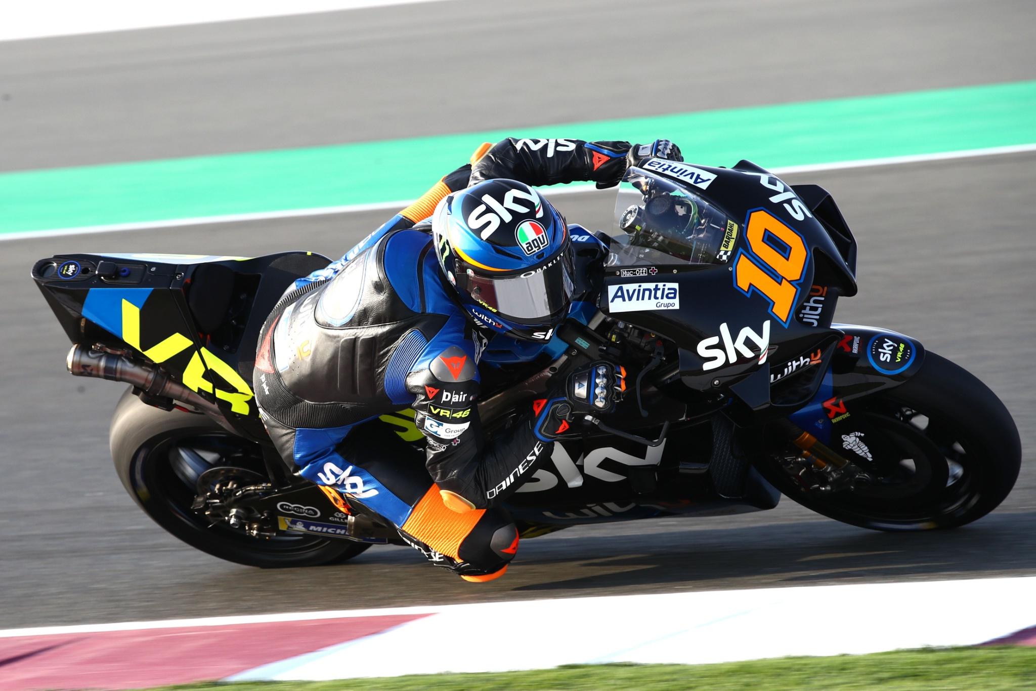 Luca Marini, Qatar MotoGP test, 5 March 2021
