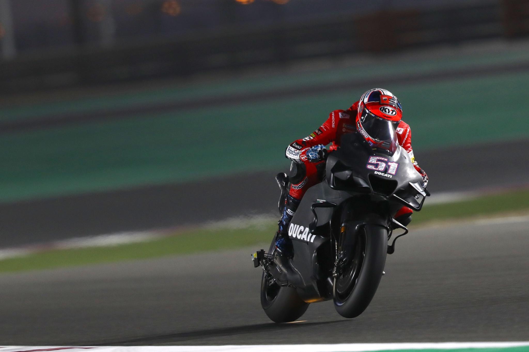 Michael Pirro, Qatar MotoGP test, 5 March 2021