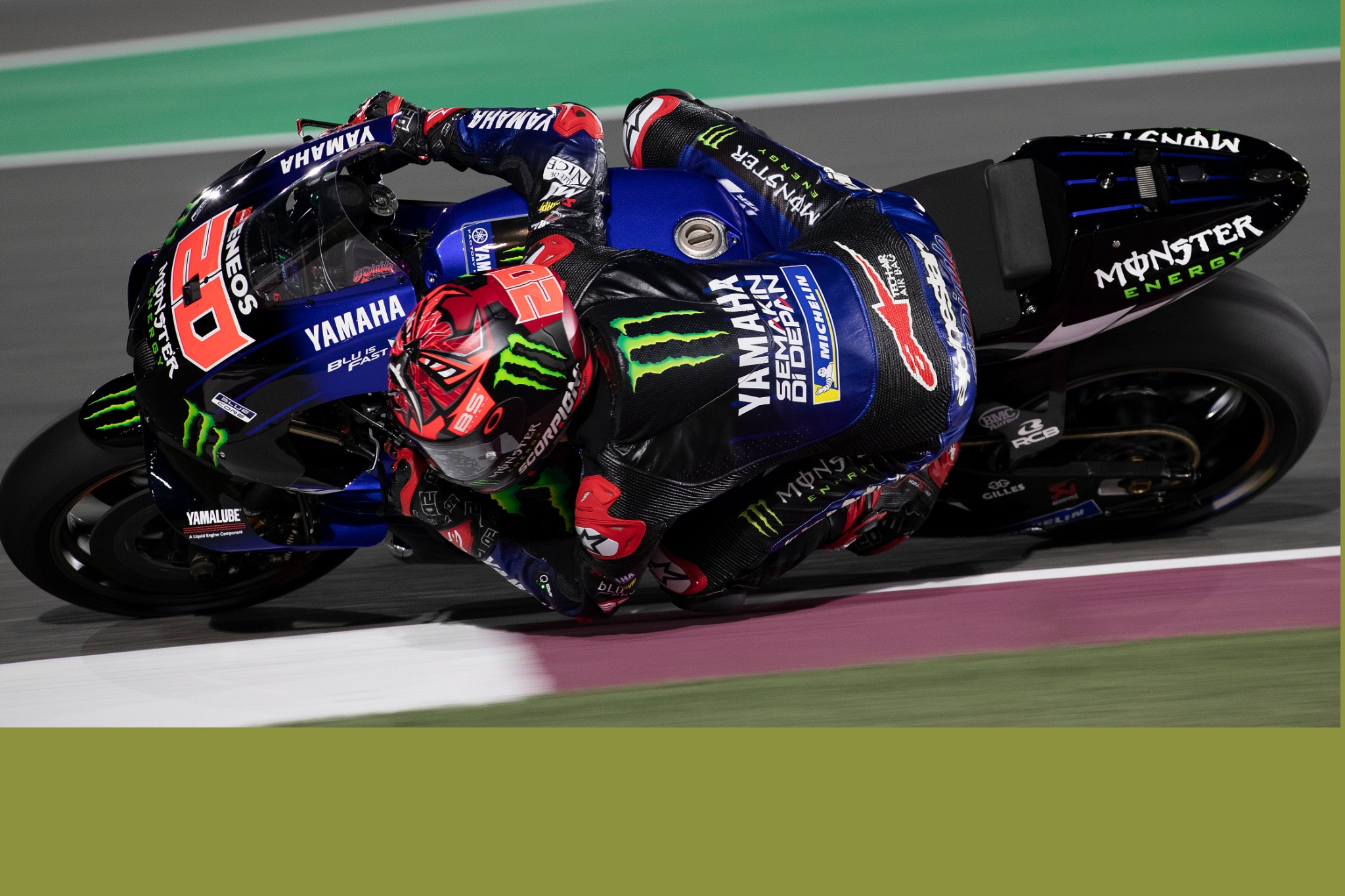 Fabio Quartararo Qatar MotoGP Test, 7 March 2021