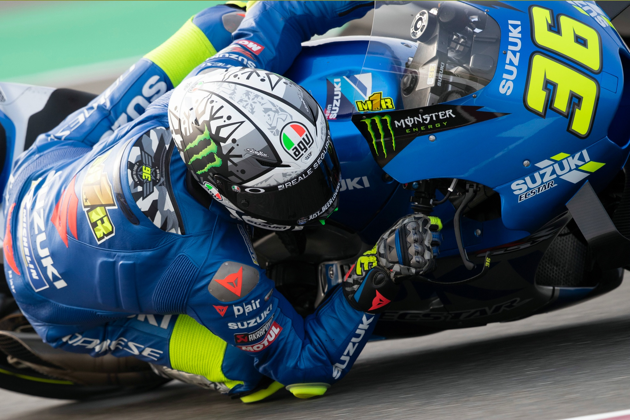 Joan Mir Qatar MotoGP test, 10 March 2021