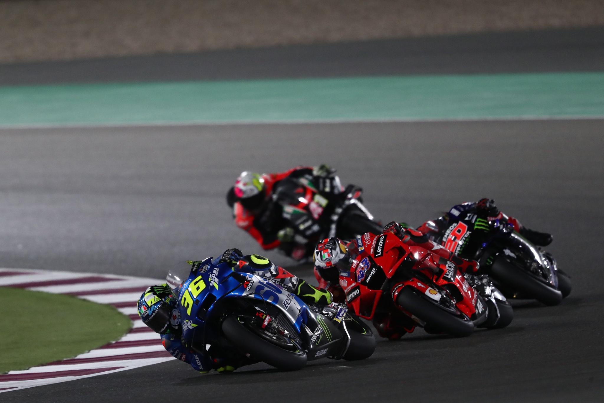 Joan Mir , MotoGP race, Qatar MotoGP 2021