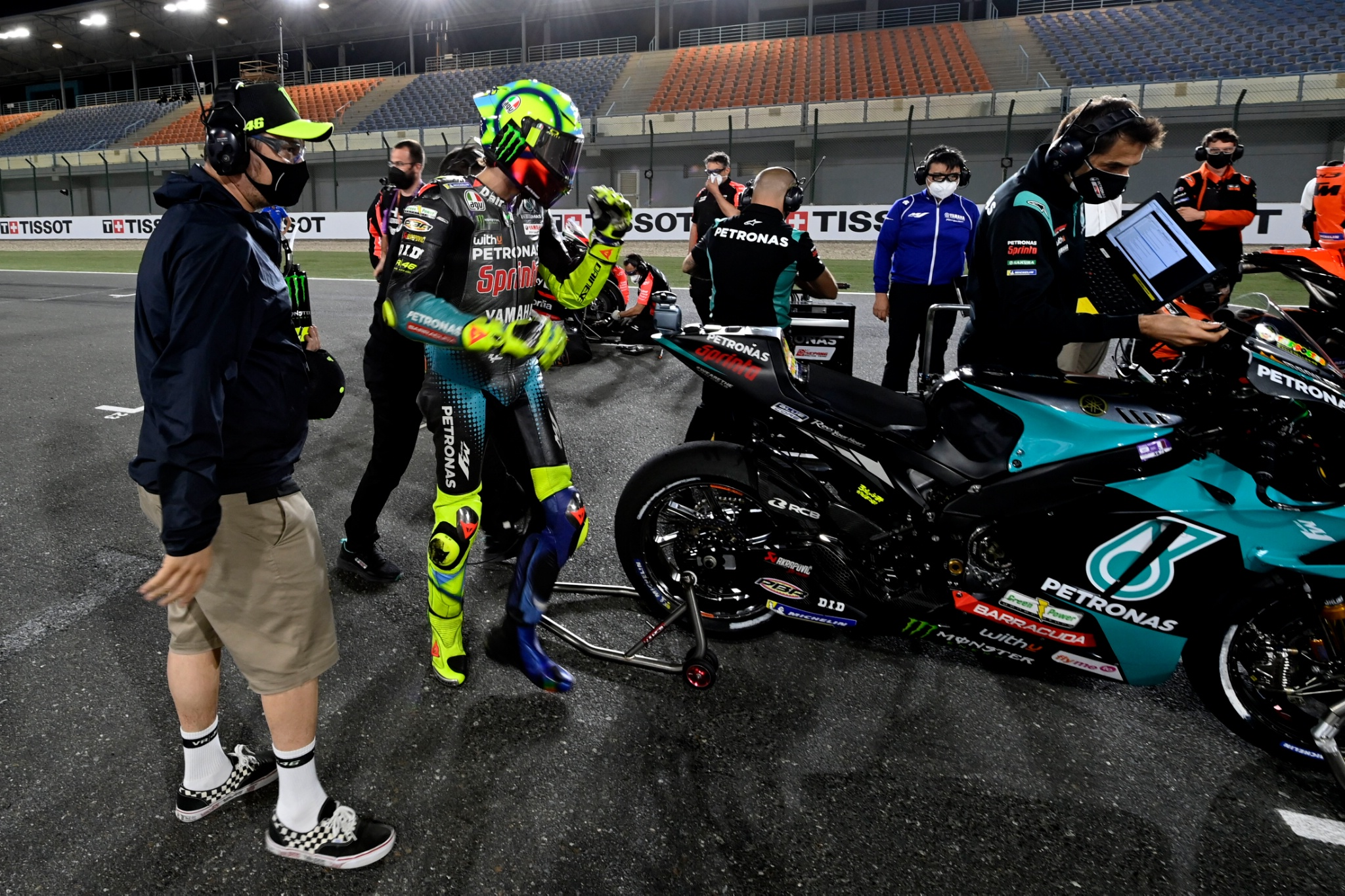 Valentino Rossi, MotoGP, Doha MotoGP race, 4 April 2021