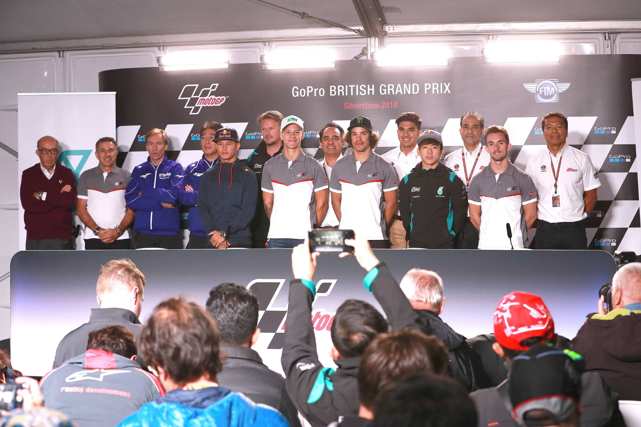 Petronas press conference, British MotoGP 2018