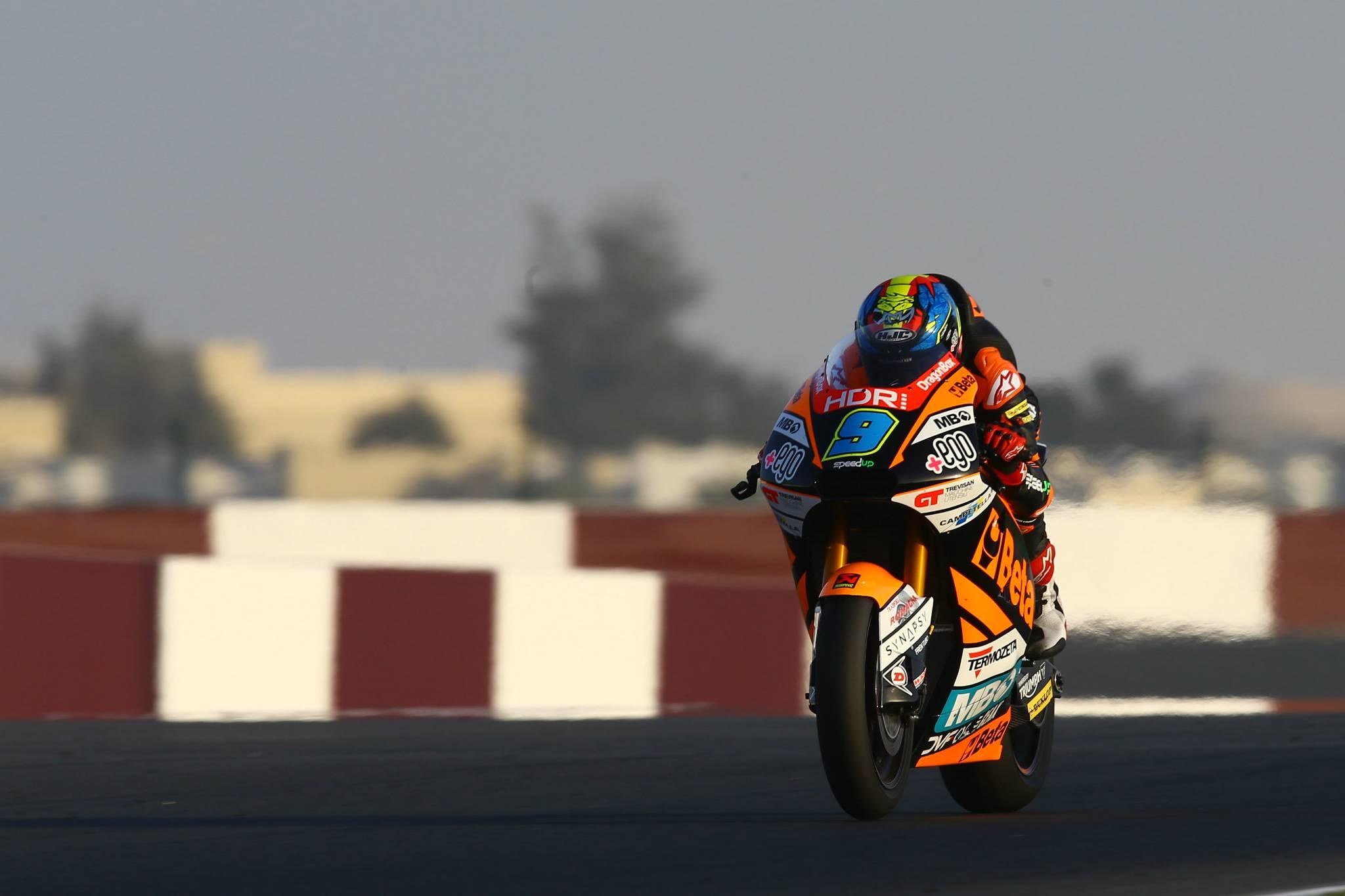 Jorge Navarro, Qatar Moto2 test, February 2020
