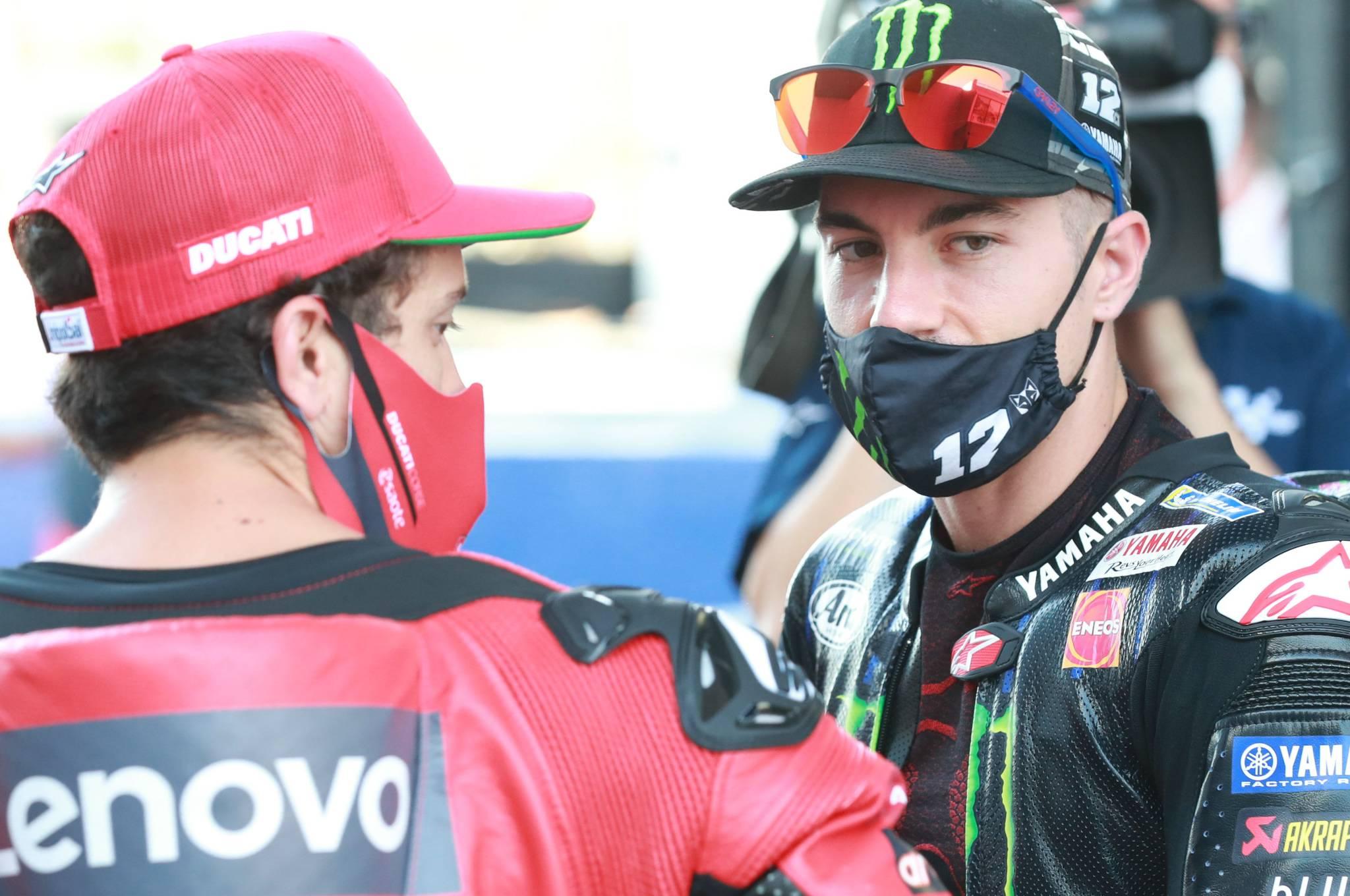 Andrea Dovizioso, Maverick Vinales, Spanish MotoGP, 16 July 2020