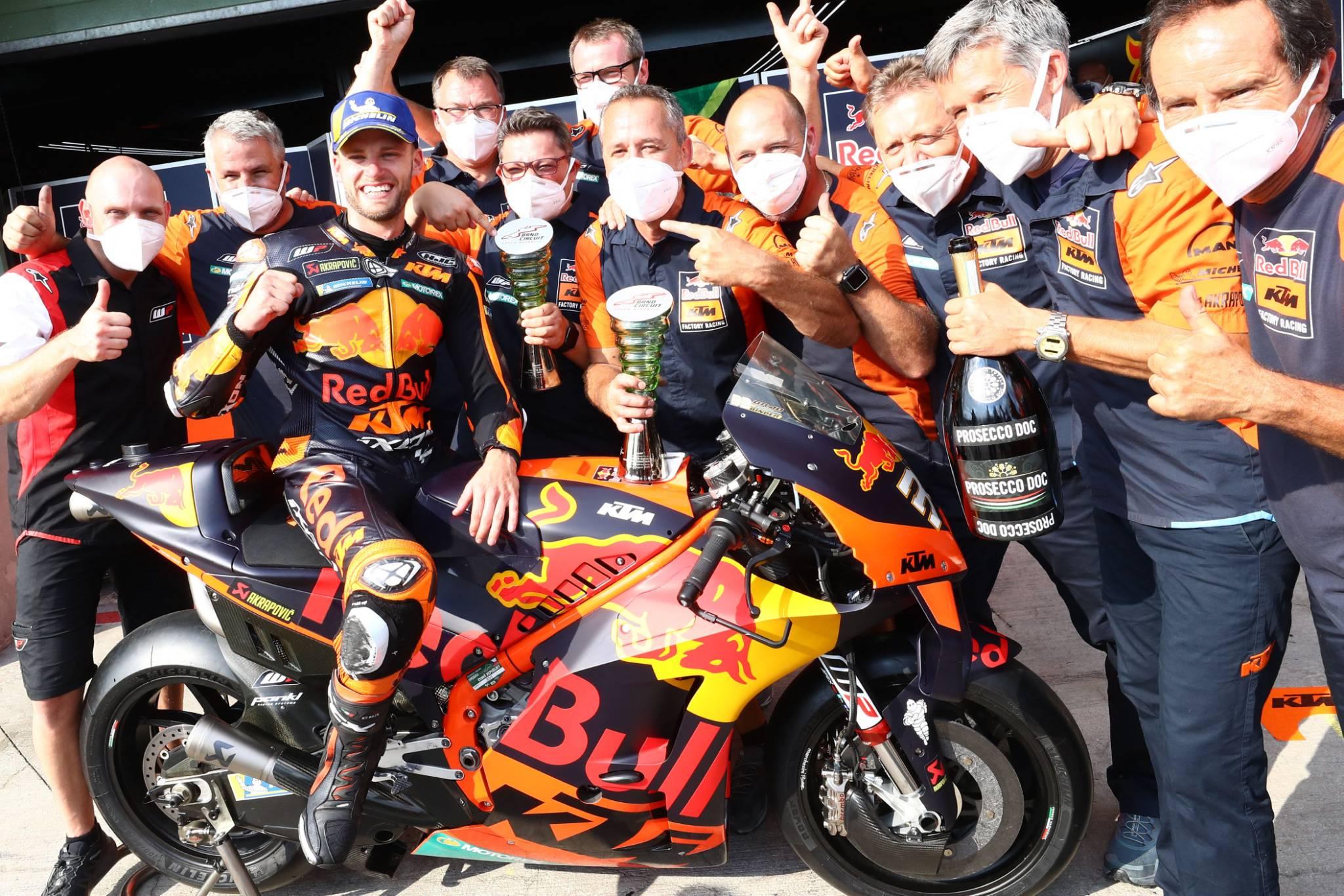 Brad Binder, MotoGP race, Czech MotoGP 2020
