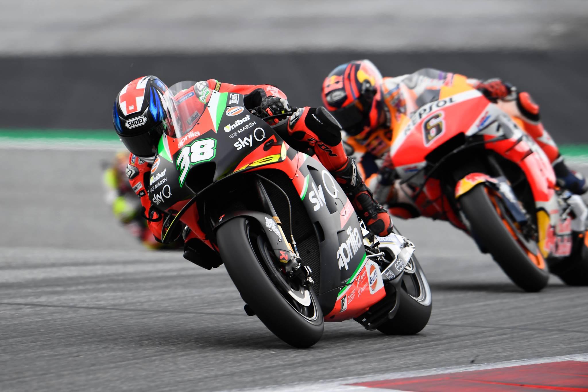 Bradley Smith, Styrian MotoGP race 23 August 2020