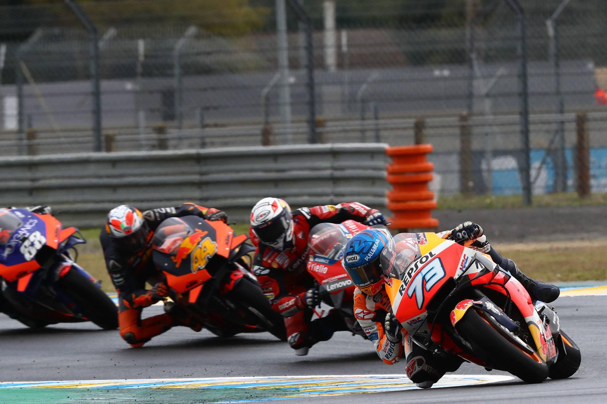 Alex Marquez , MotoGP race, French MotoGP. 11 October 2020