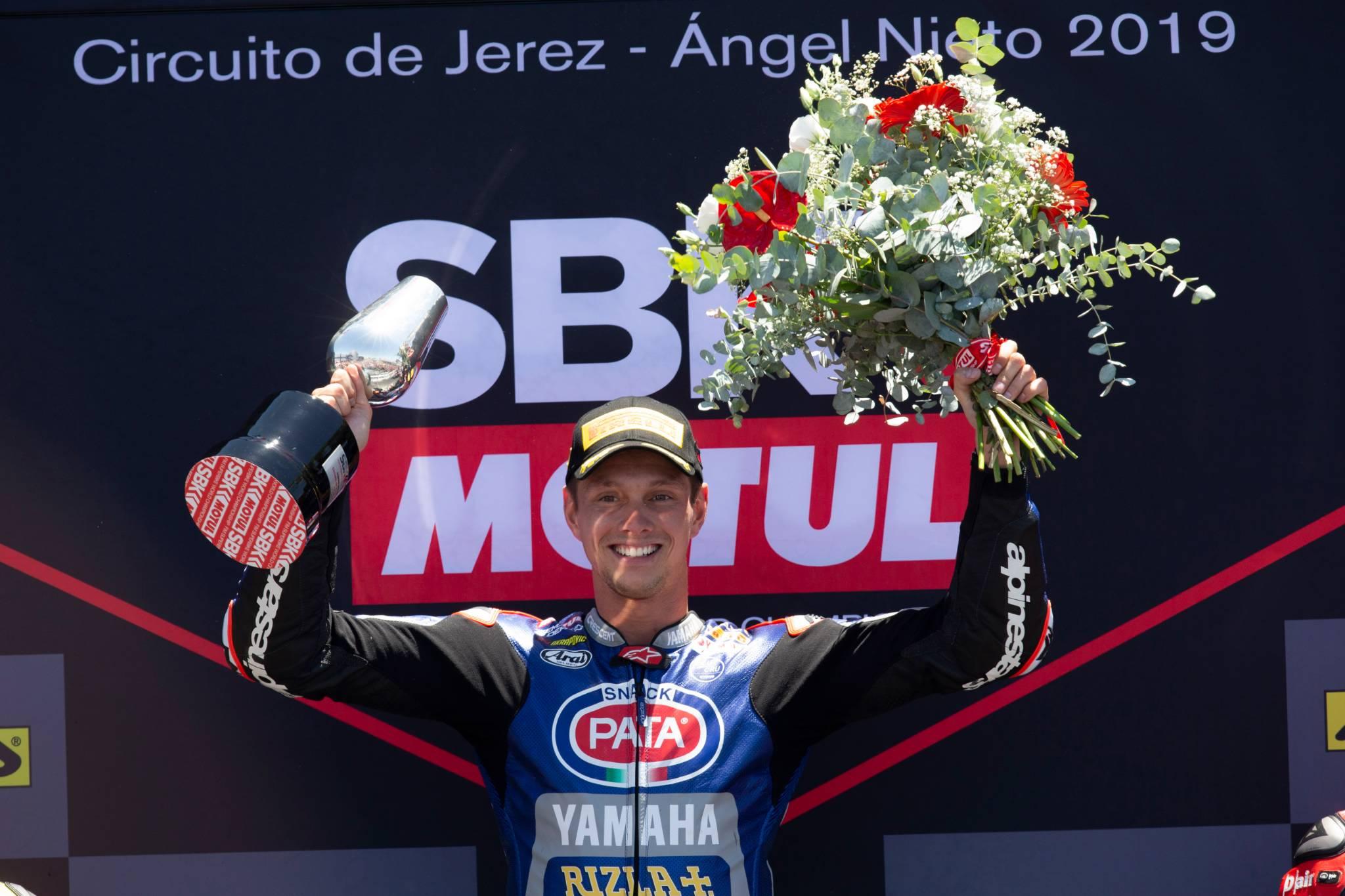 VD Mark, WorldSBK race2, Jerez 2019