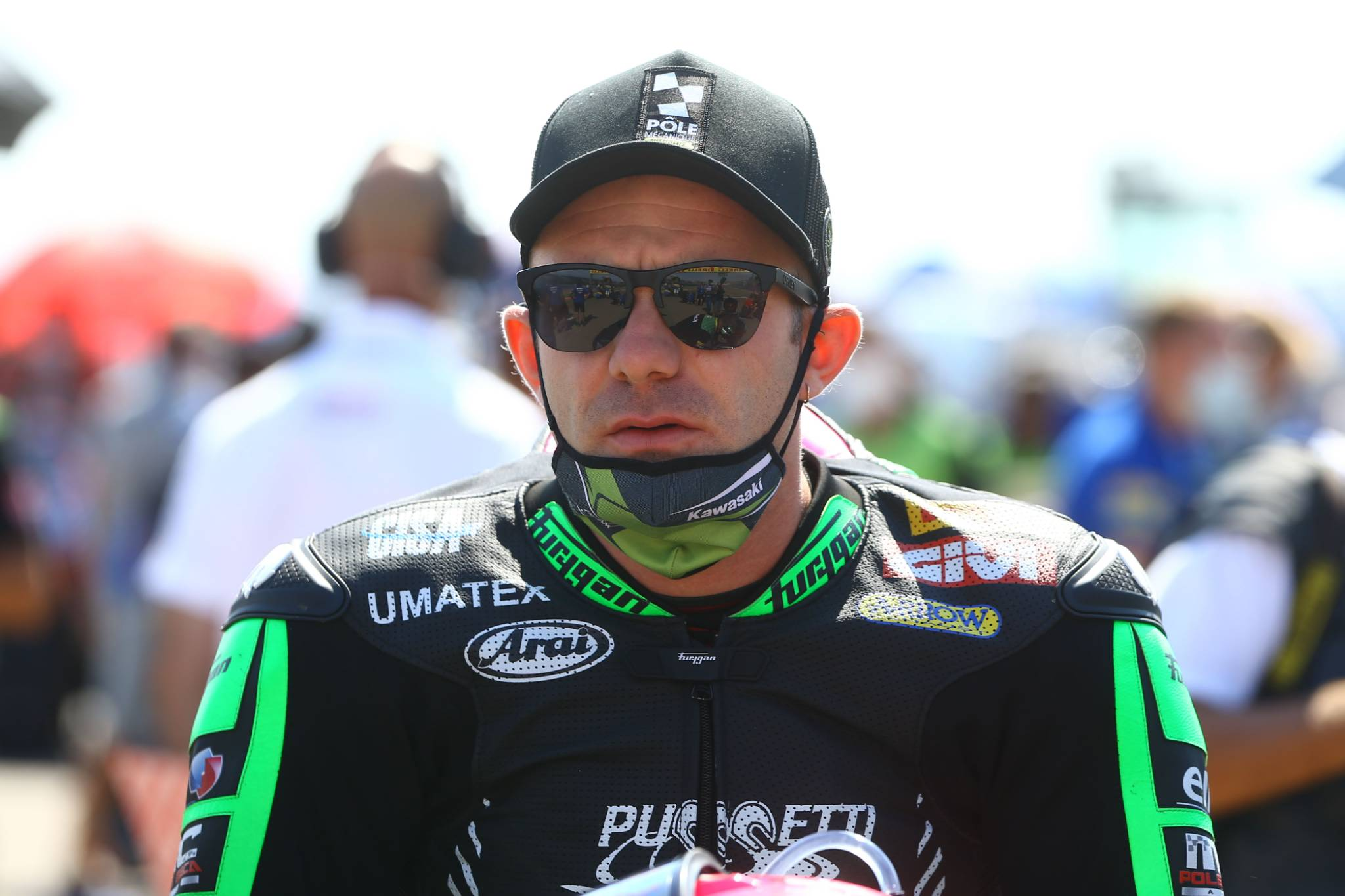 Lucas Mahias, Teruel WorldSSP race2 2020.