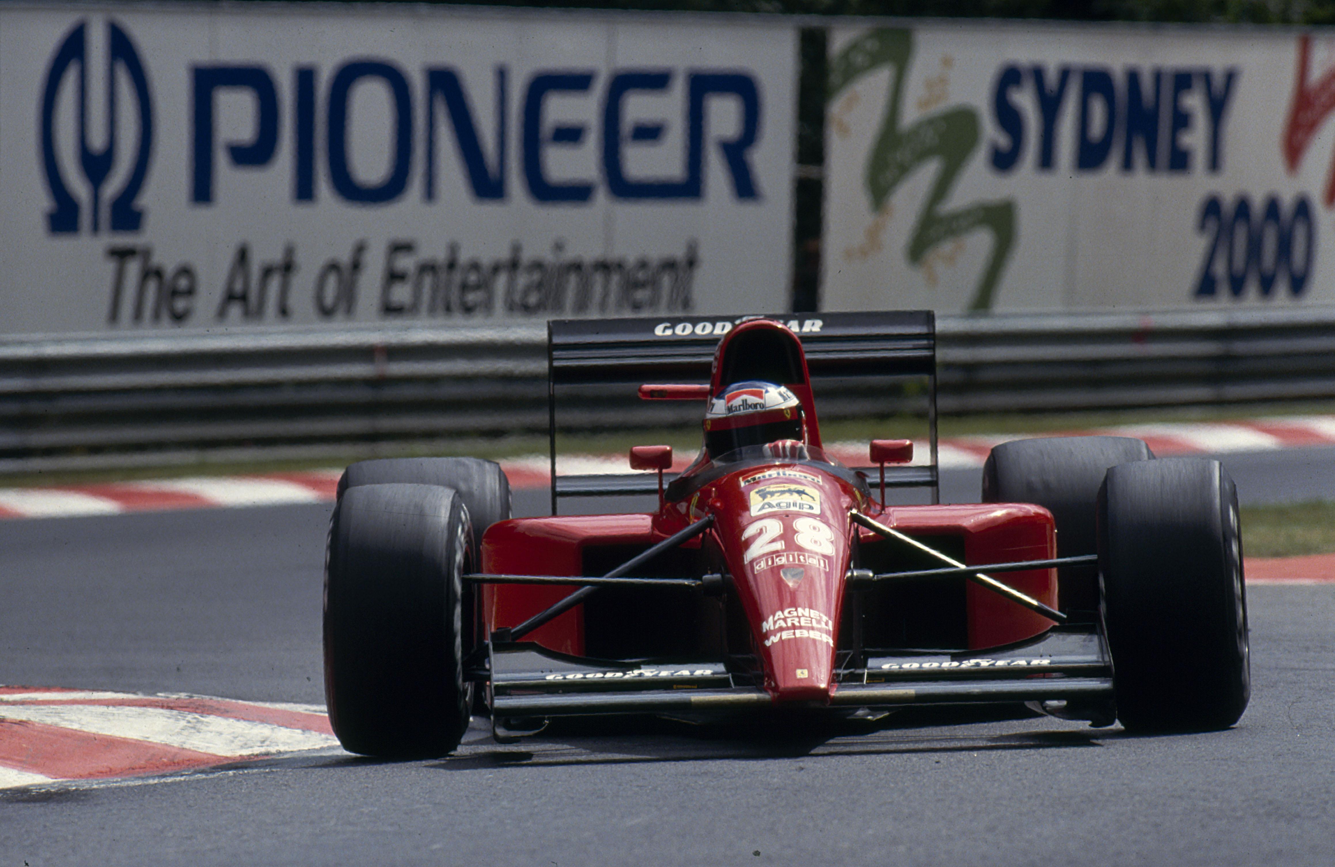 Jean Alesi - Scuderia Ferrari