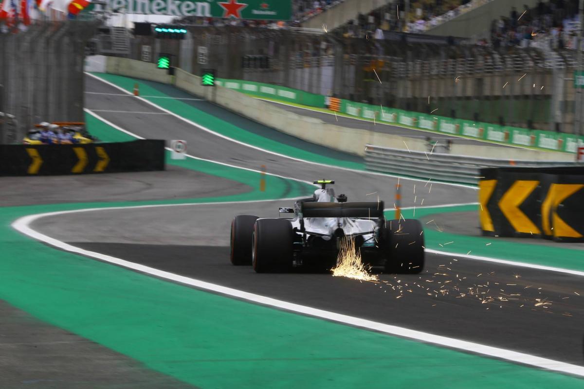 F1 Brazilian GP - Free Practice 2 Results