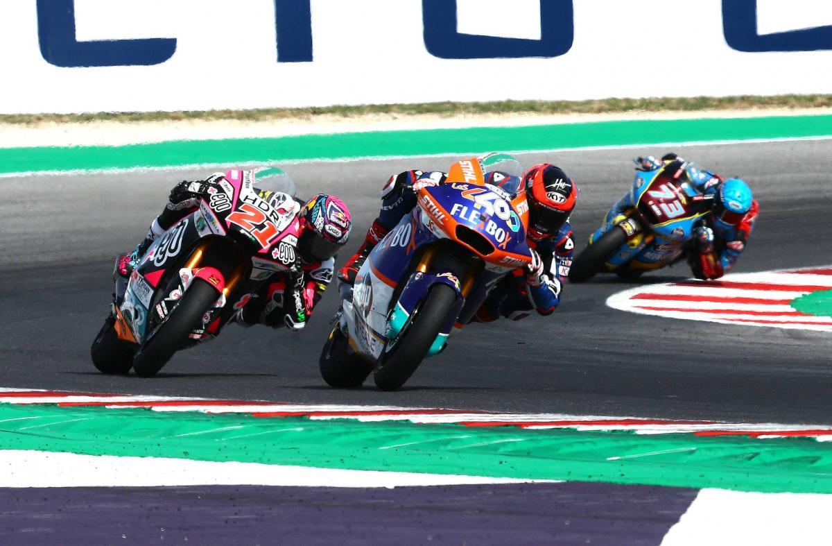 Fernandez avoids penalty to keep Misano Moto2 win
