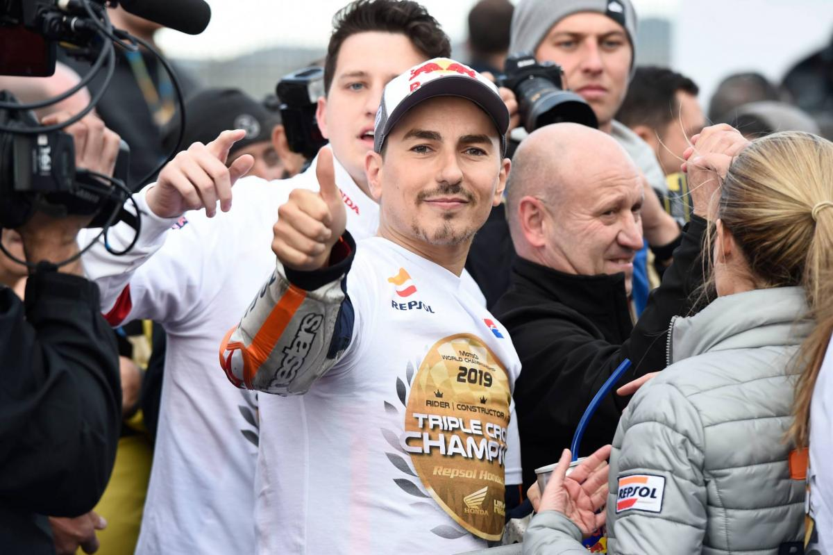 Lorenzo moving closer to Yamaha test rider role?