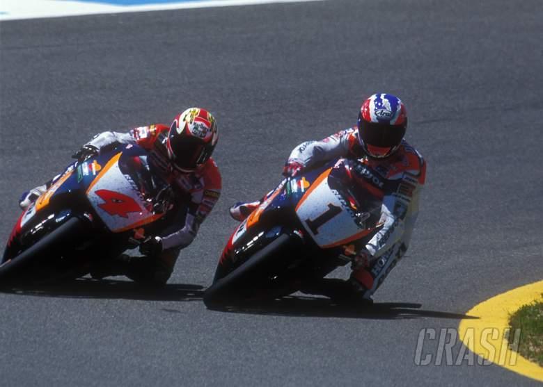 Mick Doohan, Repsol Honda, Alex Criville, 1996 Spanish Grand Prix, Jerez, MotoGP,