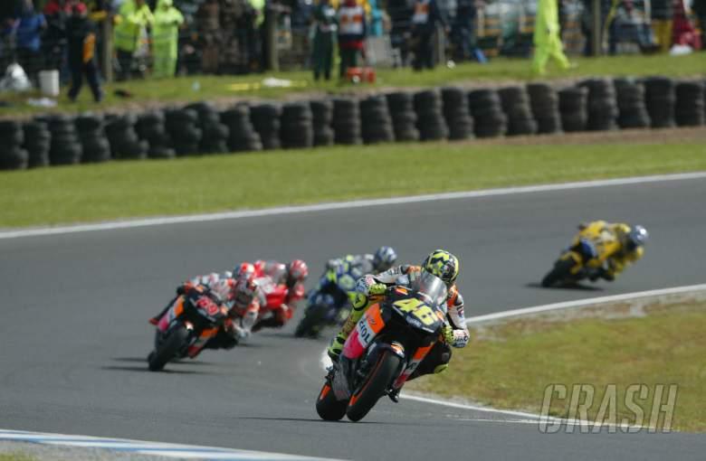 Valentino Rossi, 2003 Australian MotoGP, Phillip Island, Honda,