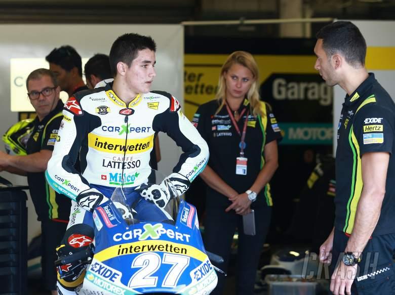 Iker Lecuona, 2016英国大奖赛,Moto2,