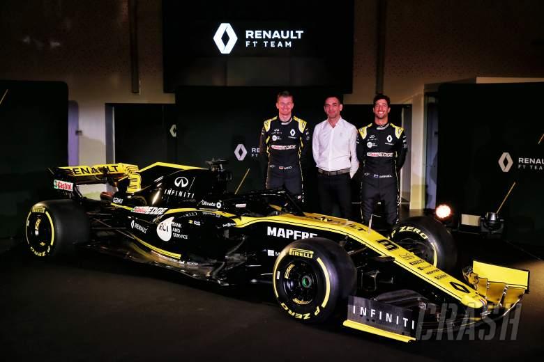 Renault tidak menetapkan target 'x atau y' tetap untuk F1 2019