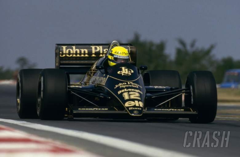 Ayrton Senna, John Player Special, Lotus, F1,