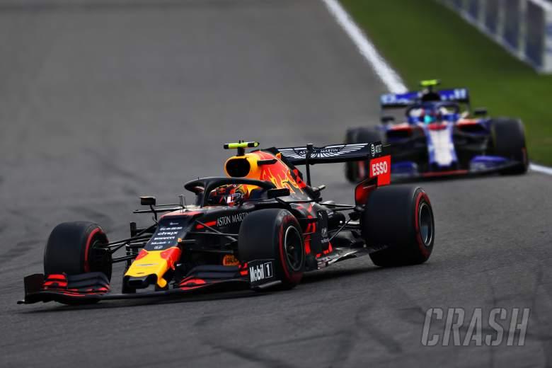 Alex Albon, Pierre Gasly, Red Bull, Toro Rosso, F1, Belgian Grand Prix,